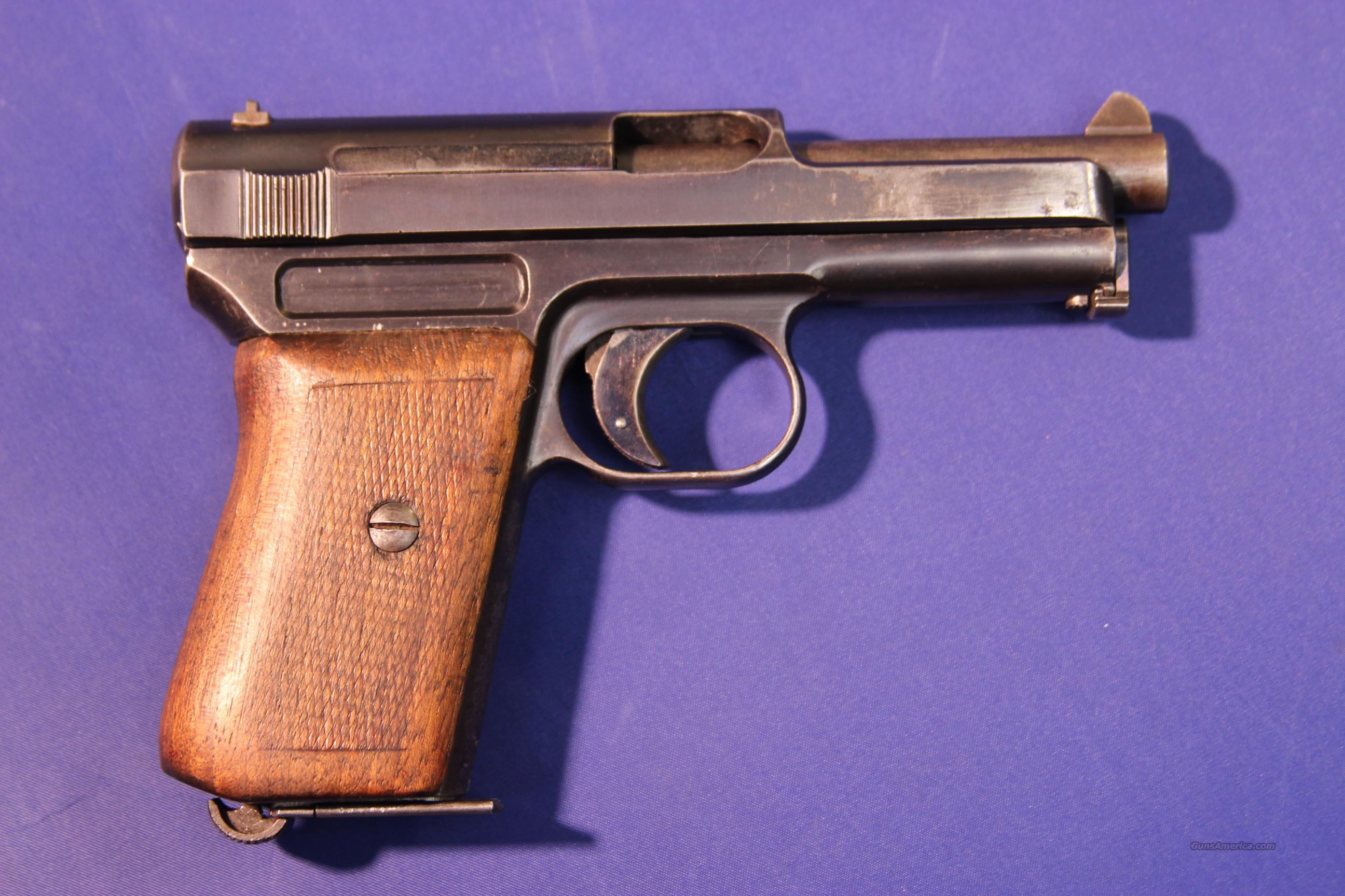 MAUSER POCKET MODEL 1914 7.65MM  Guns > Pistols > Mauser Pistols