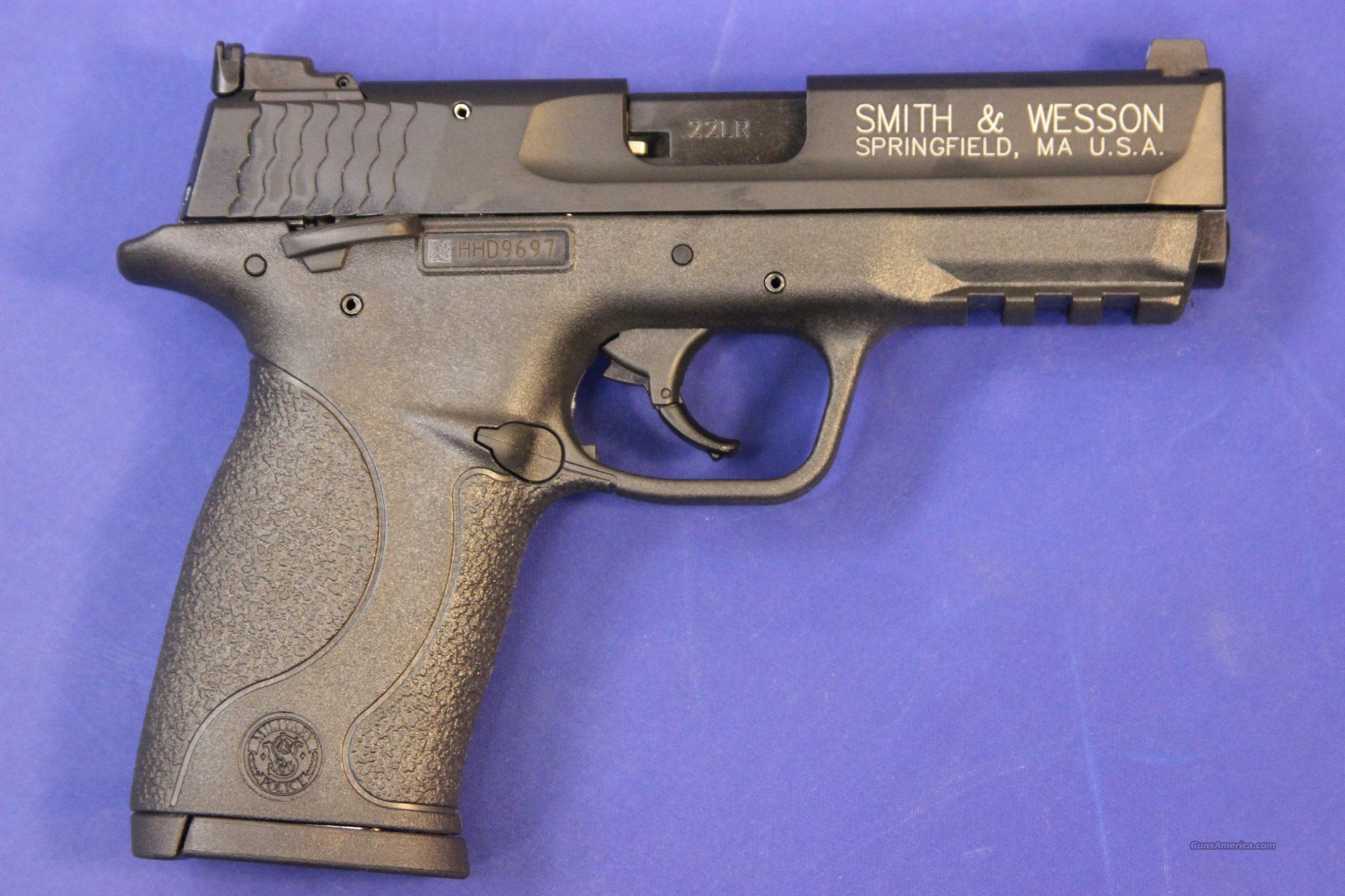 "S&W M&P 22 COMPACT 3.6"" .22 LR - NEW!  Guns > Pistols > Smith & Wesson Pistols - Autos > Polymer Frame"