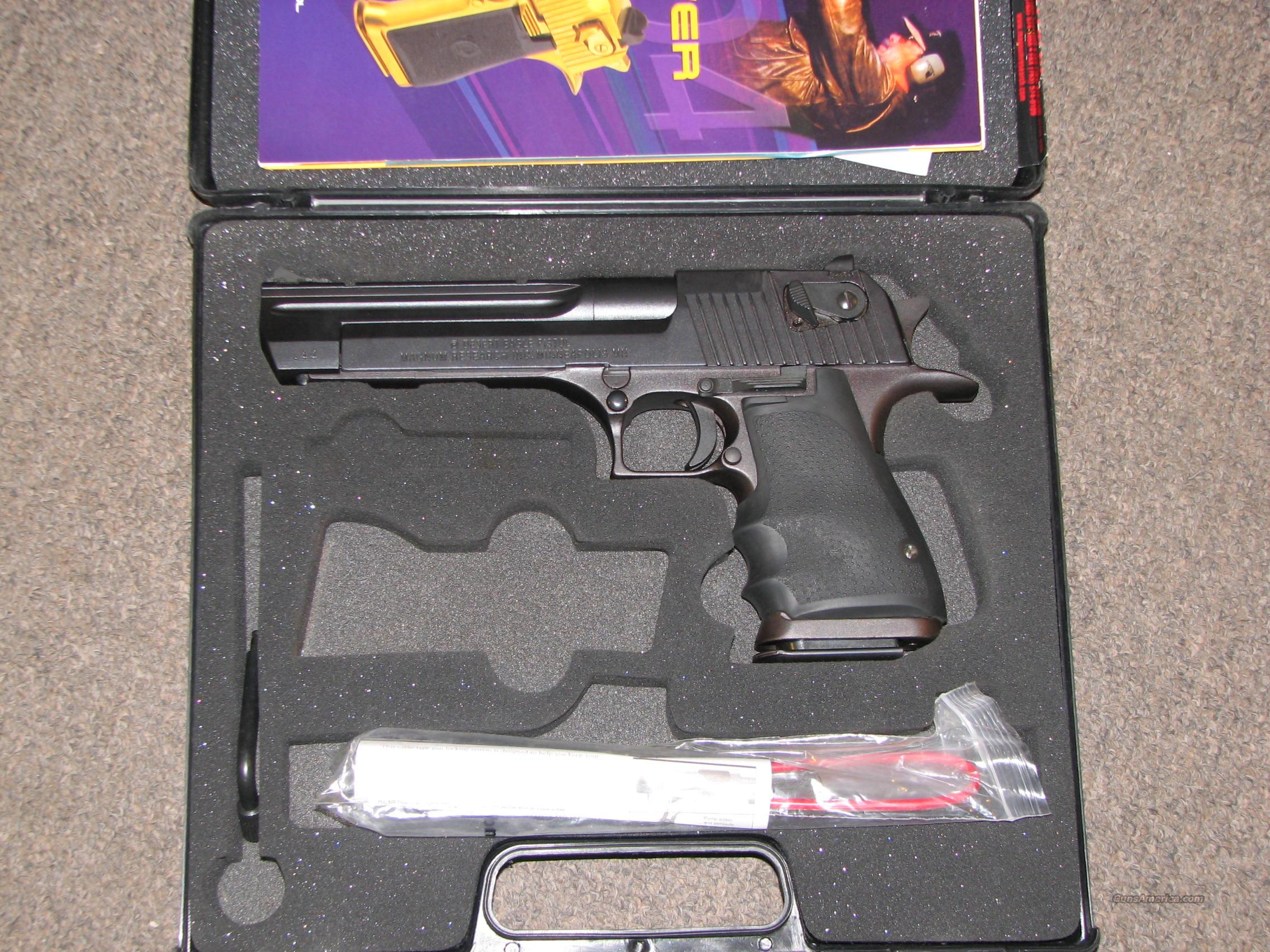 MAGNUM RESEARCH (IMI) DESERT EAGLE .44 MAG - LIKE NEW!  Guns > Pistols > Magnum Research Pistols