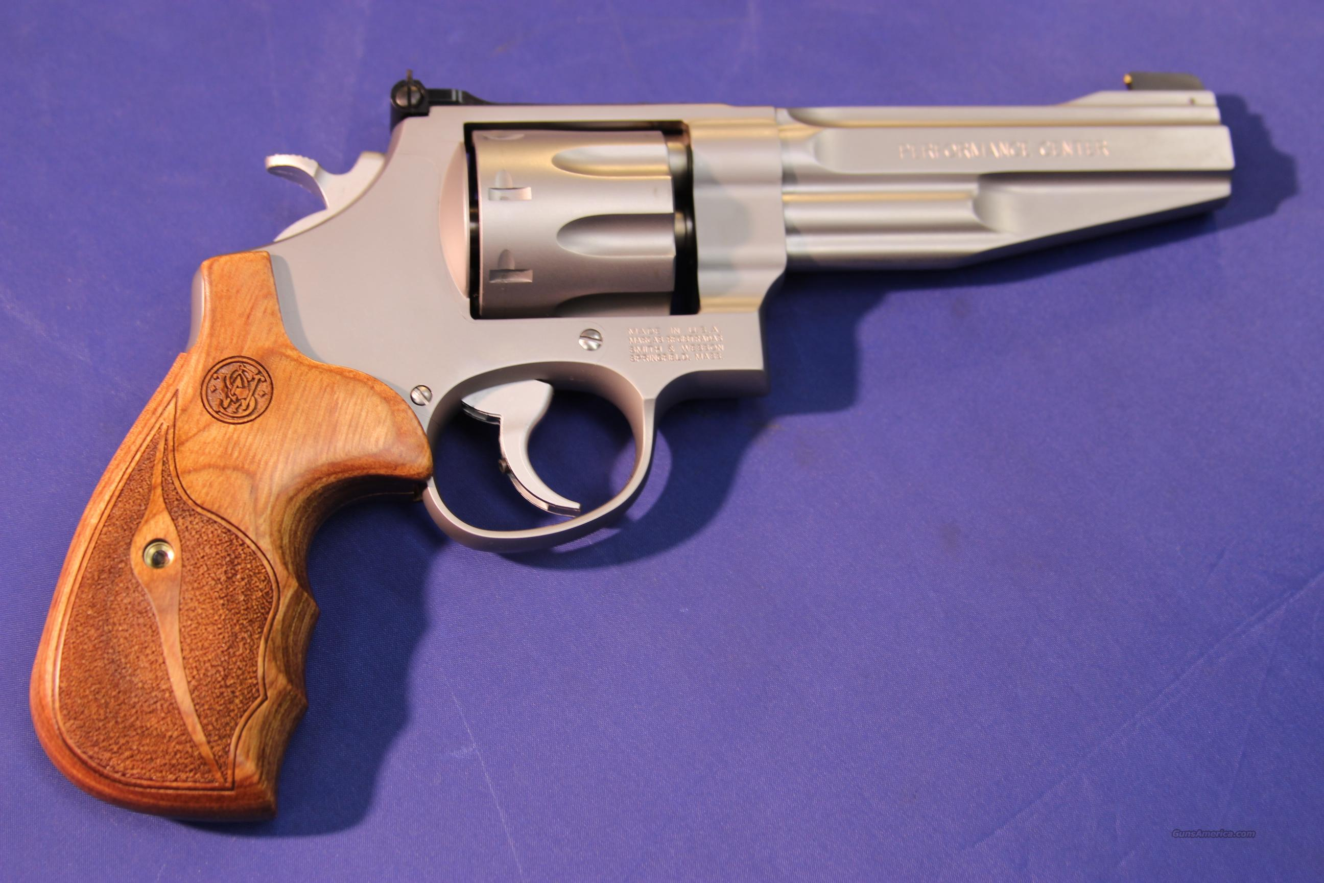 "SMITH & WESSON 627 PER CTR 5"" 357 MAG – NEW!   Guns > Pistols > Smith & Wesson Revolvers > Performance Center"