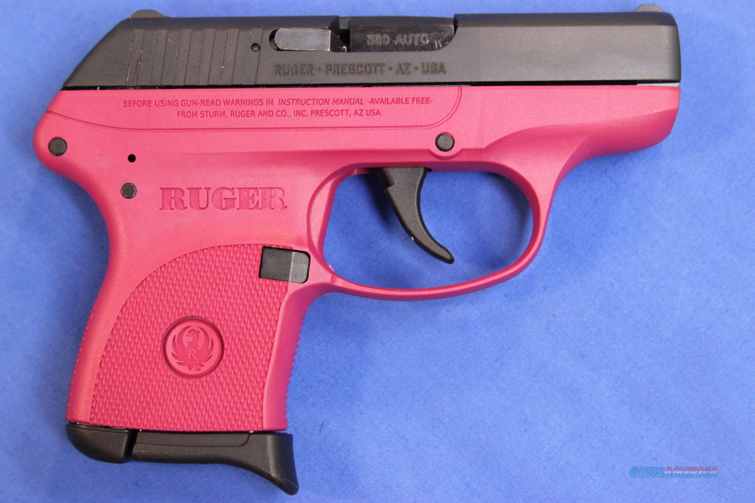 RUGER LCP .380 ACP RASPBERRRY - NEW!  Guns > Pistols > Ruger Semi-Auto Pistols > LCP