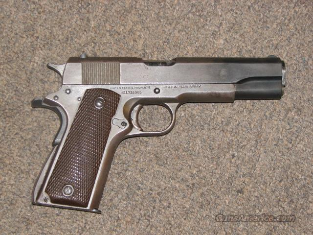 U.S. REMINGTON RAND 1911-A1 GOVERNMENT .45 ACP  Guns > Pistols > Remington Pistols - Modern
