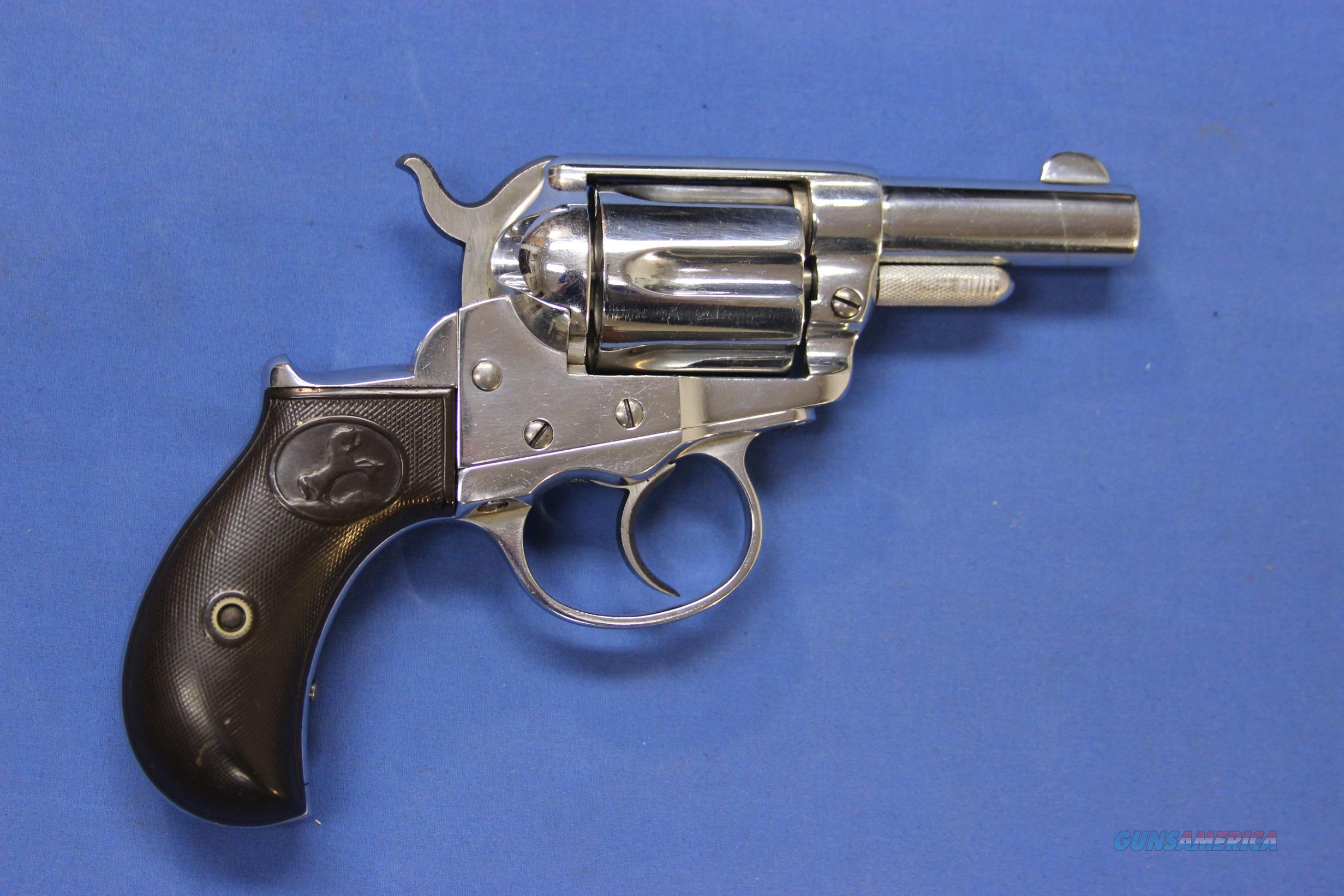 "COLT 1877 LIGHTNING .38 COLT 2.5"" LONG CYL. PIN - 1879 Mfg.  Guns > Pistols > Colt Double Action Revolvers- Pre-1945"