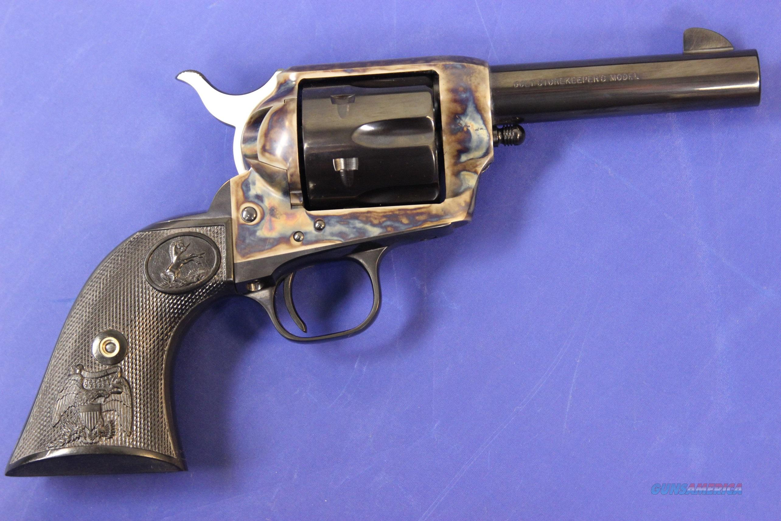 COLT SINGLE ACTION ARMY MODEL P2836S .45 COLT w/ BOX - LIKE NEW  Guns > Pistols > Colt Single Action Revolvers - 3rd Gen.