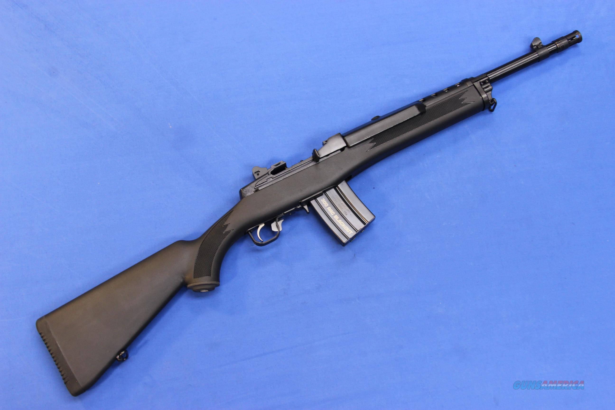 RUGER MINI-14 .300 AAC BLACKOUT - NEW!  Guns > Rifles > Ruger Rifles > Mini-14 Type