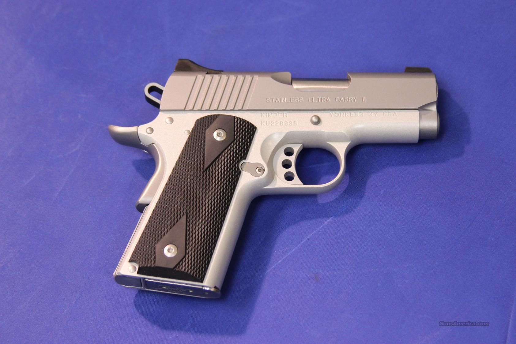 KIMBER ULTRA CARRY II STAINLESS .45 ACP - NEW!  Guns > Pistols > Kimber of America Pistols