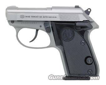 BERETTA 3032 TOMCAT STAINLESS .32 ACP - NEW!  Guns > Pistols > Beretta Pistols > Small Caliber Tip Out