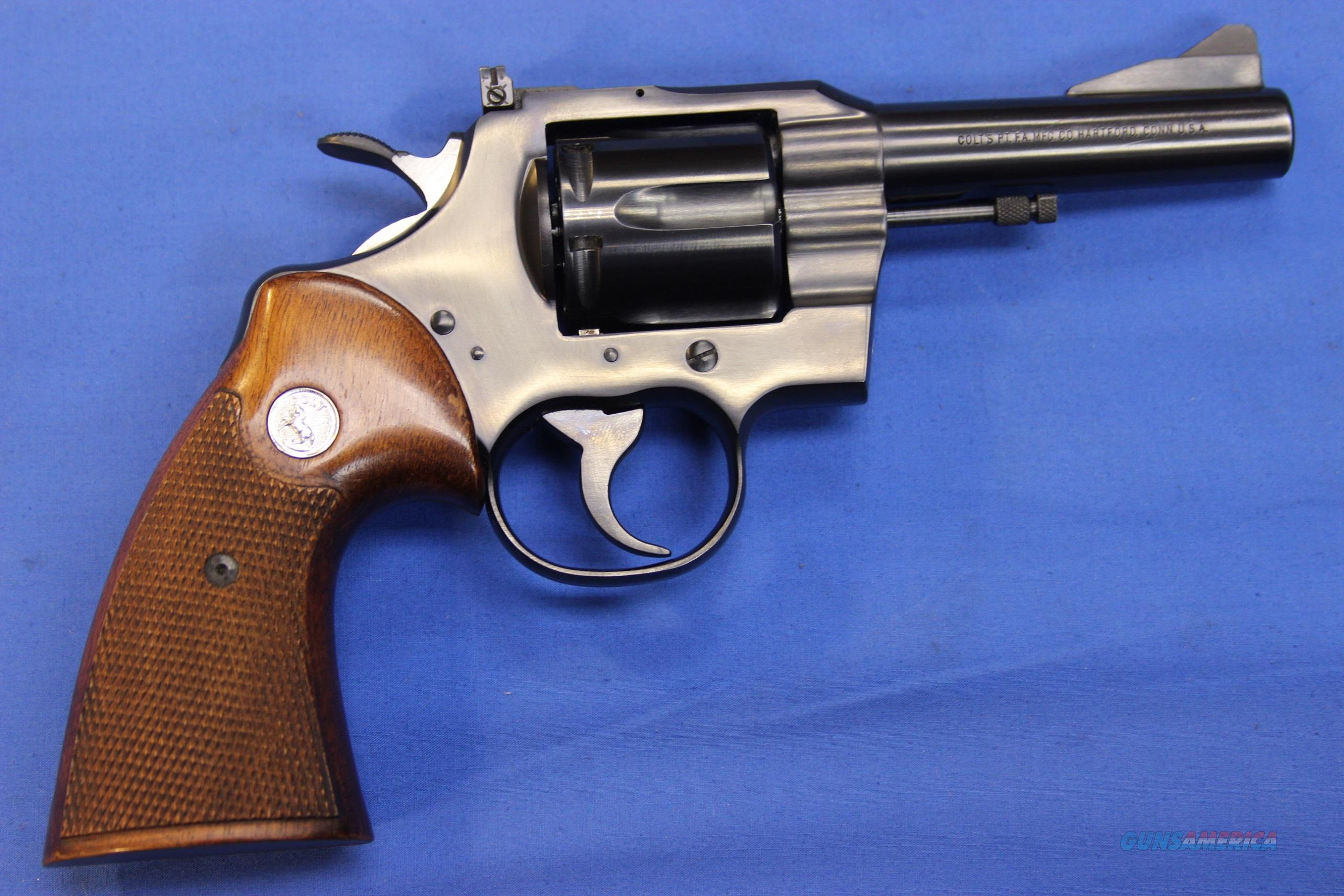 COLT TROOPER .357 MAGNUM w/ BOX  Guns > Pistols > Colt Double Action Revolvers- Modern