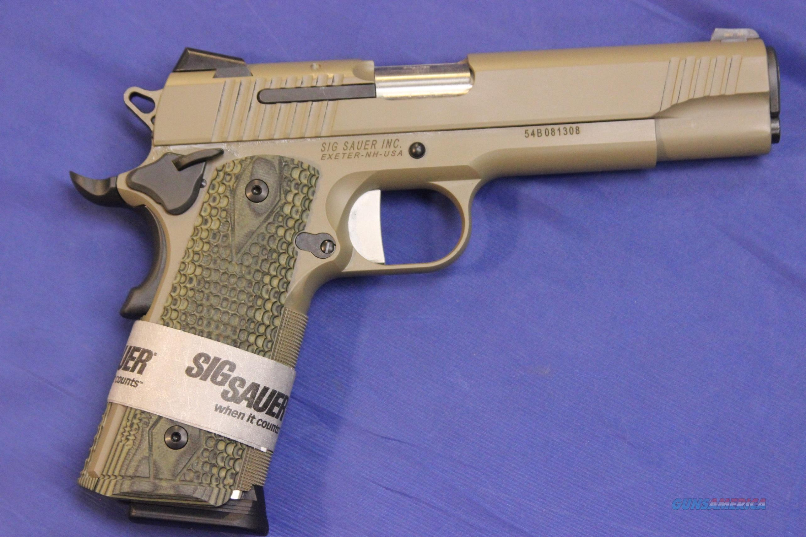 SIG SAUER 1911 SCORPION .45 ACP - NEW - FREE SHIPPING!  Guns > Pistols > Sig - Sauer/Sigarms Pistols > 1911