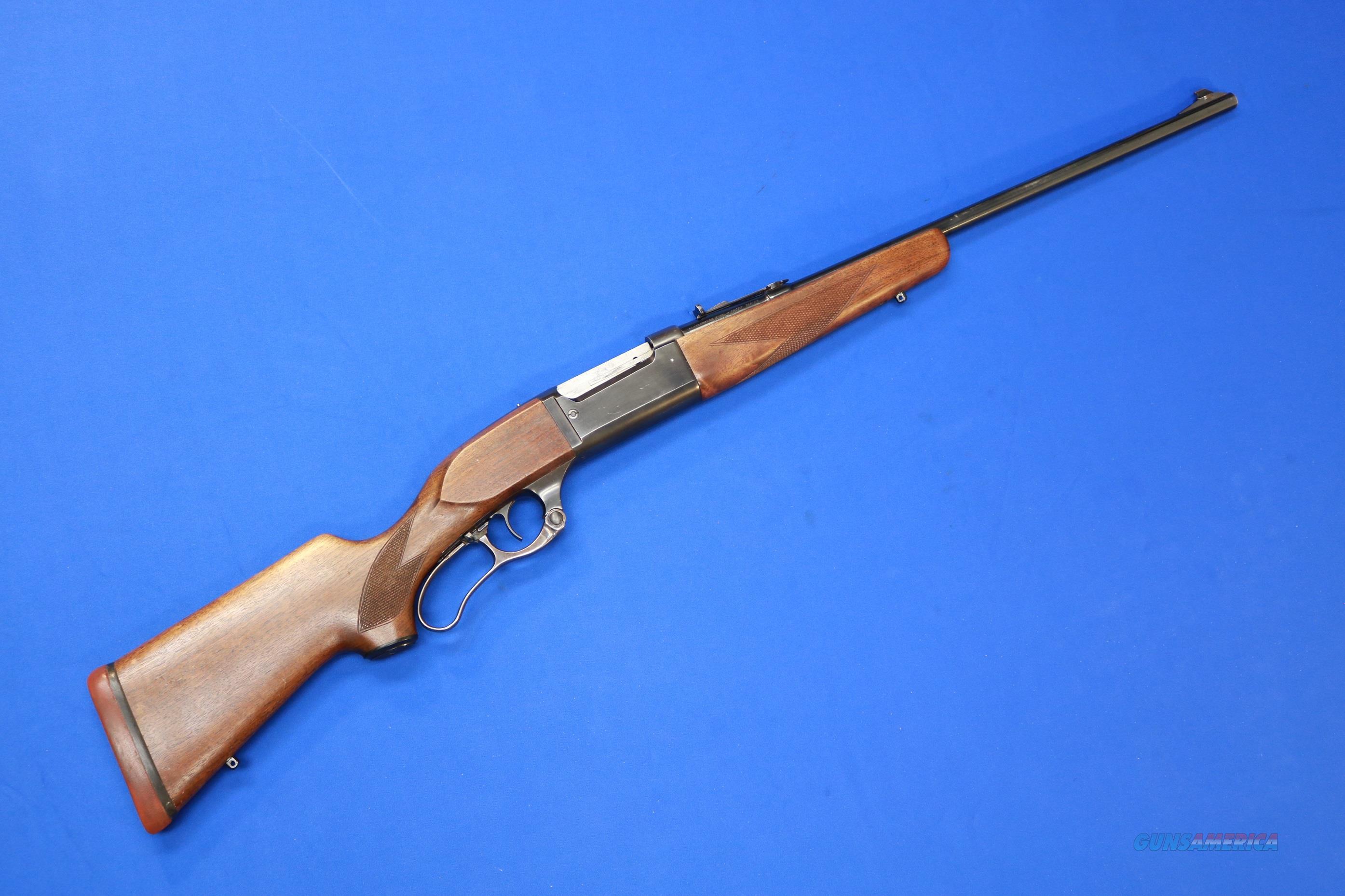SAVAGE 99F LEVER ACTION .250-3000 SAVAGE   Guns > Rifles > Savage Rifles > Model 95/99 Family