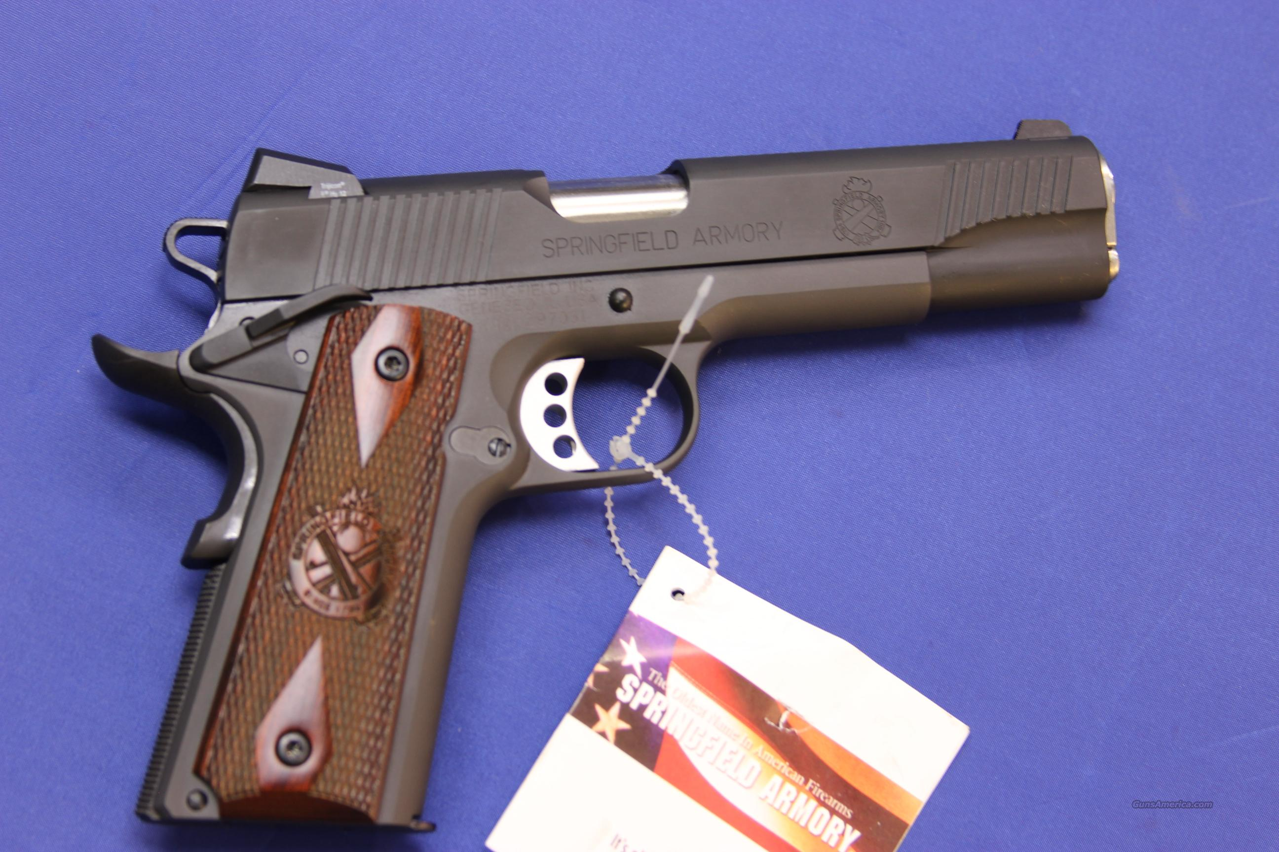 SPRINGFIELD 191-A1 SERVICE CUSTOM LOADED PX9109LP .45 ACP - NEW!  Guns > Pistols > Springfield Armory Pistols > 1911 Type