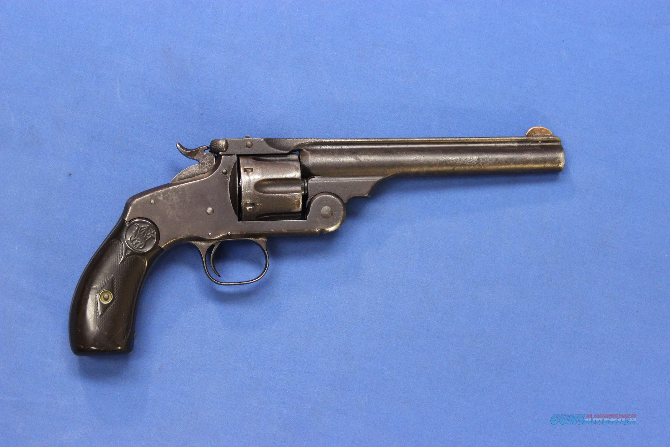 EARLY SMITH & WESSON NEW MODEL #3 .44 RUSSIAN  Guns > Pistols > Smith & Wesson Revolvers > Pre-1899