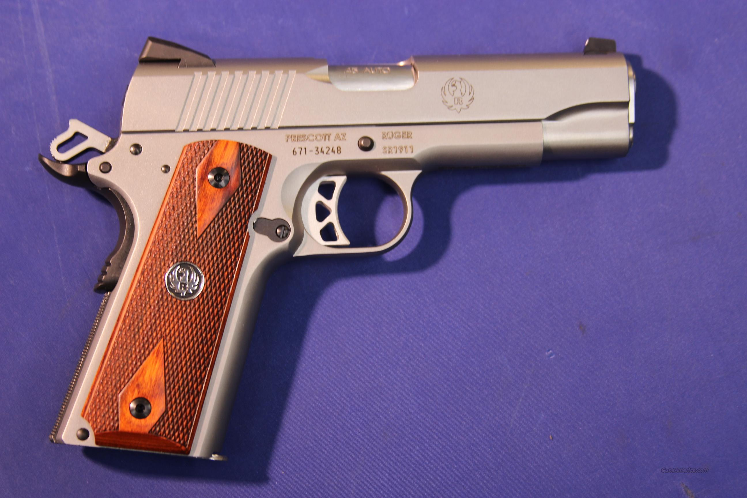 RUGER SP1911 COMMANDER .45 ACP – NEW!   Guns > Pistols > Ruger Semi-Auto Pistols > Charger Series