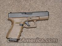 GLOCK 19 FLAT DARK EARTH 9mm - NEW!  Glock Pistols > 19