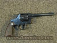 COLT OFFICIAL POLICE .22 LR  Guns > Pistols > Colt Double Action Revolvers- Pre-1945