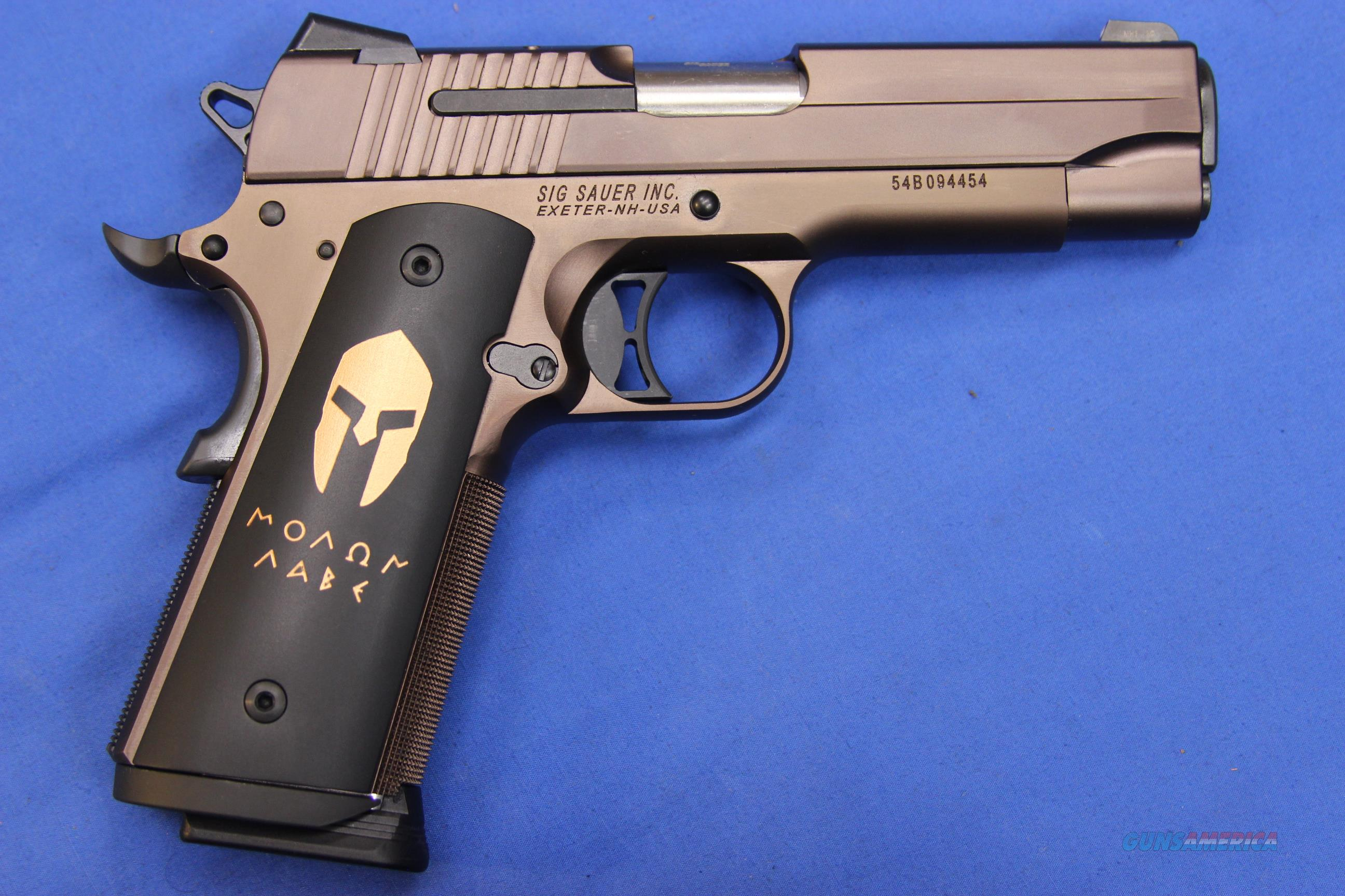 SIG SAUER 1911 SPARTAN CARRY .45 ACP - NEW!  Guns > Pistols > Sig - Sauer/Sigarms Pistols > 1911