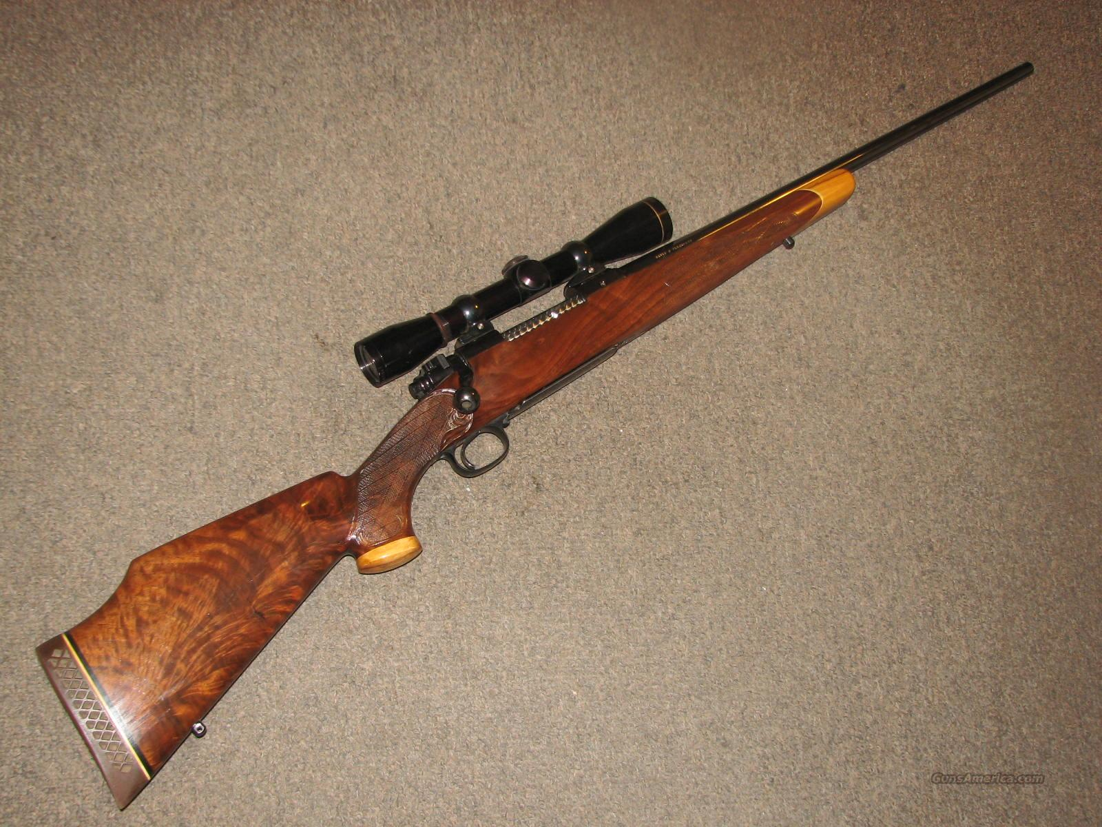 WINCHESTER 70 BLACKBURN CUSTOM .30-06  Guns > Rifles > Winchester Rifles - Modern Bolt/Auto/Single > Model 70 > Pre-64
