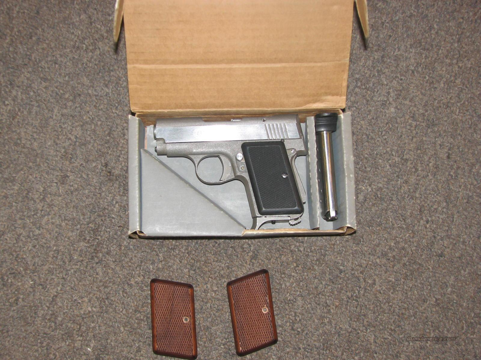 AMT BACKUP II STAINLESS .380 ACP - LIKE NIB!  Guns > Pistols > AMT Pistols > Other