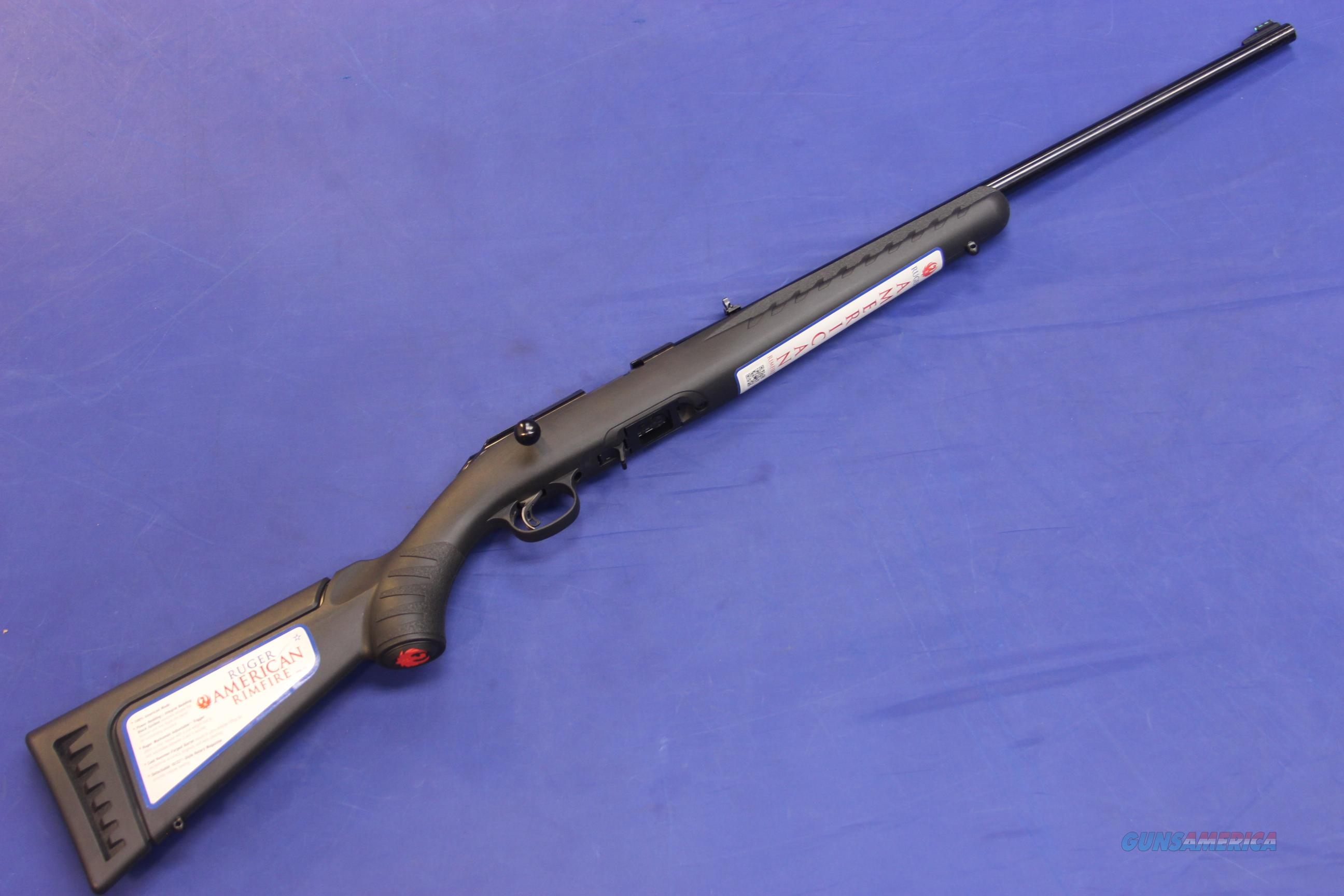 RUGER AMERICAN RIMFIRE .22 LONG RIFLE - NEW!  Guns > Rifles > Ruger Rifles > American