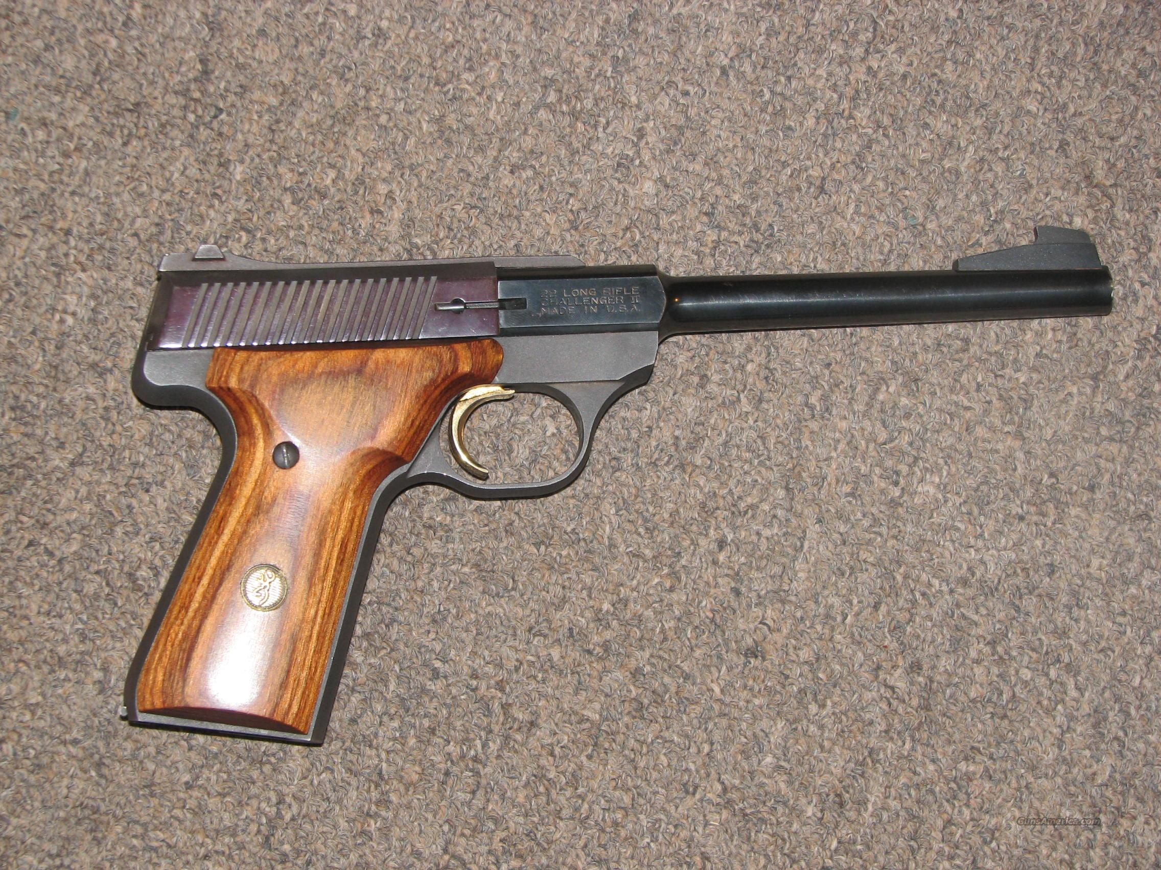 BROWNING CHALLENGER II .22 LR  Guns > Pistols > Browning Pistols > Other Autos