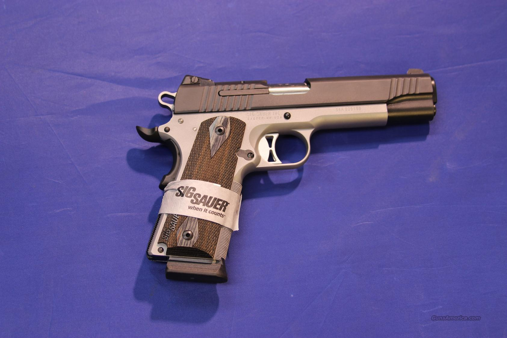*****SOLD***** SIG SAUER TRADITIONAL 1911 .45 ACP - NEW!  Guns > Pistols > Sig - Sauer/Sigarms Pistols > 1911