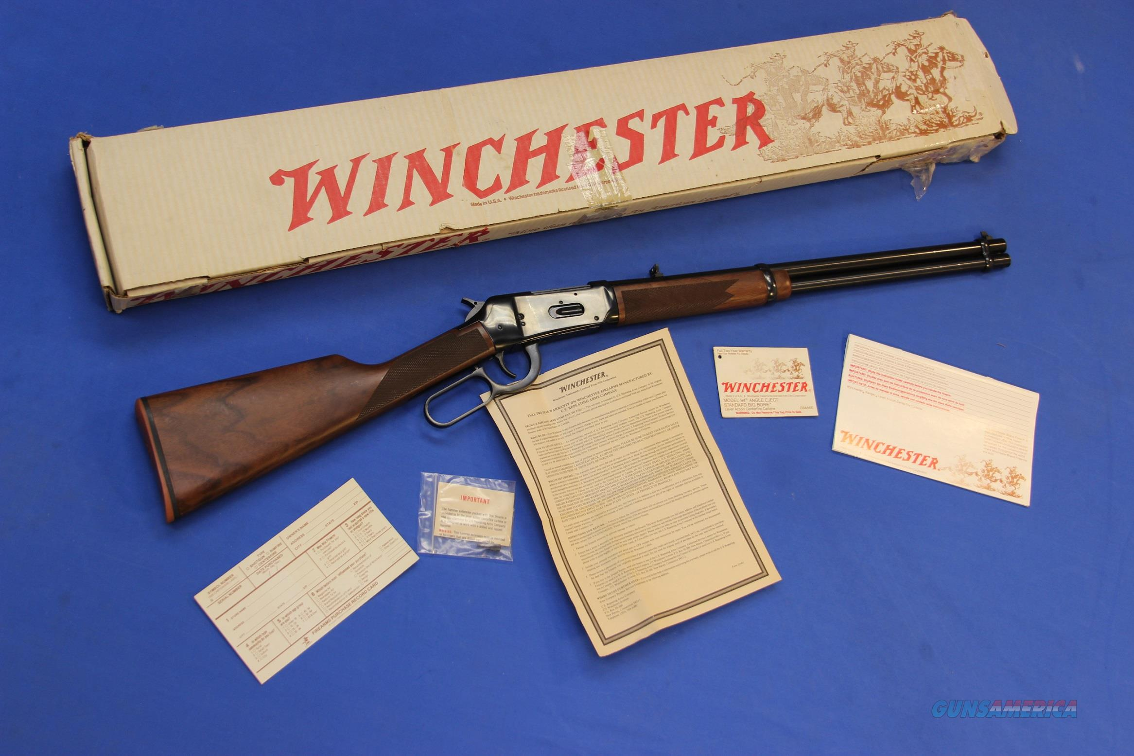 WINCHESTER 94 AE .356 WIN w/BOX & PAPERS  Guns > Rifles > Winchester Rifles - Modern Lever > Model 94 > Post-64