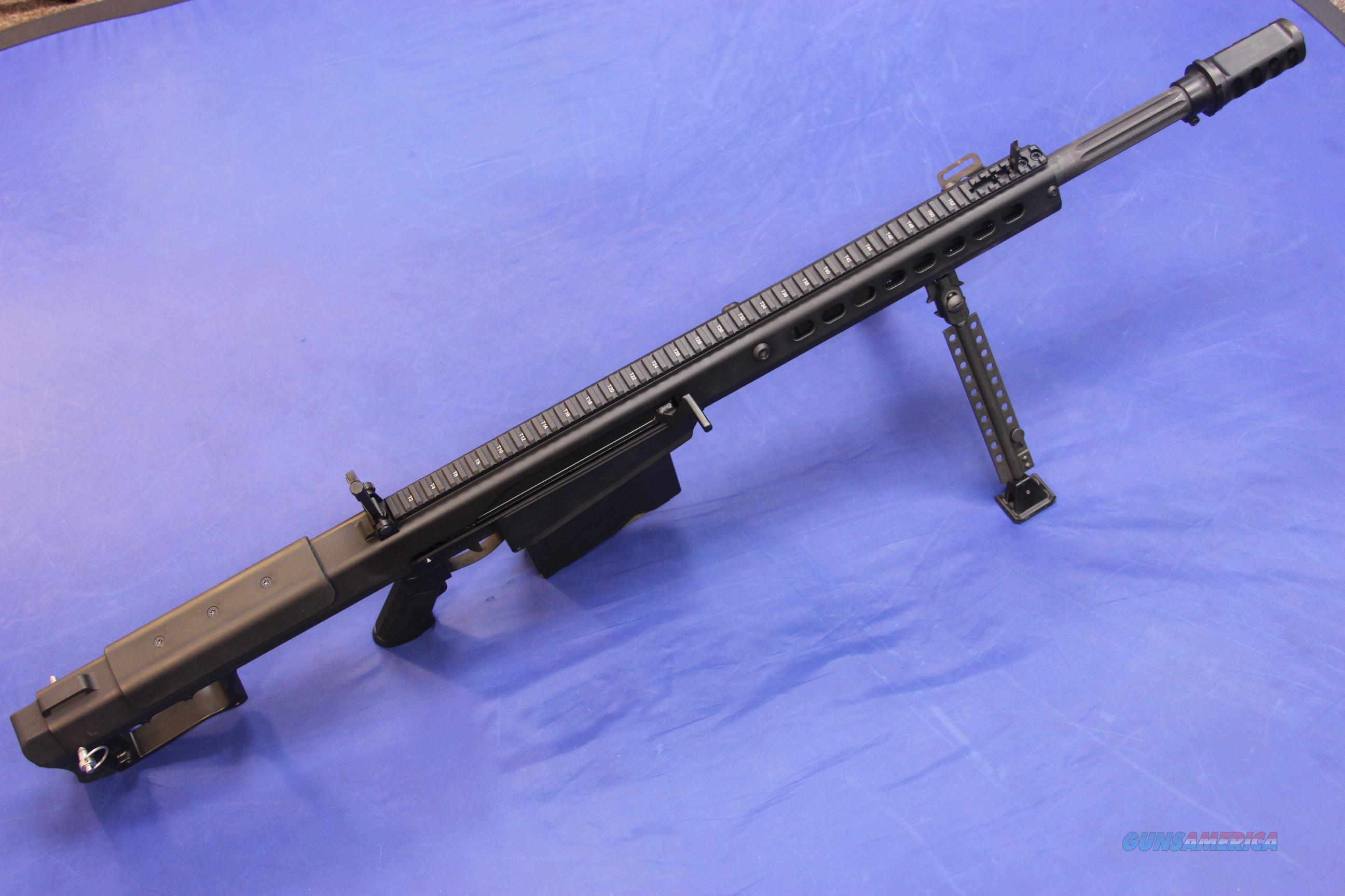 BARRETT M107A1 .50 BMG w/ PELICAN CASE & AMMO  Guns > Rifles > Barrett Rifles