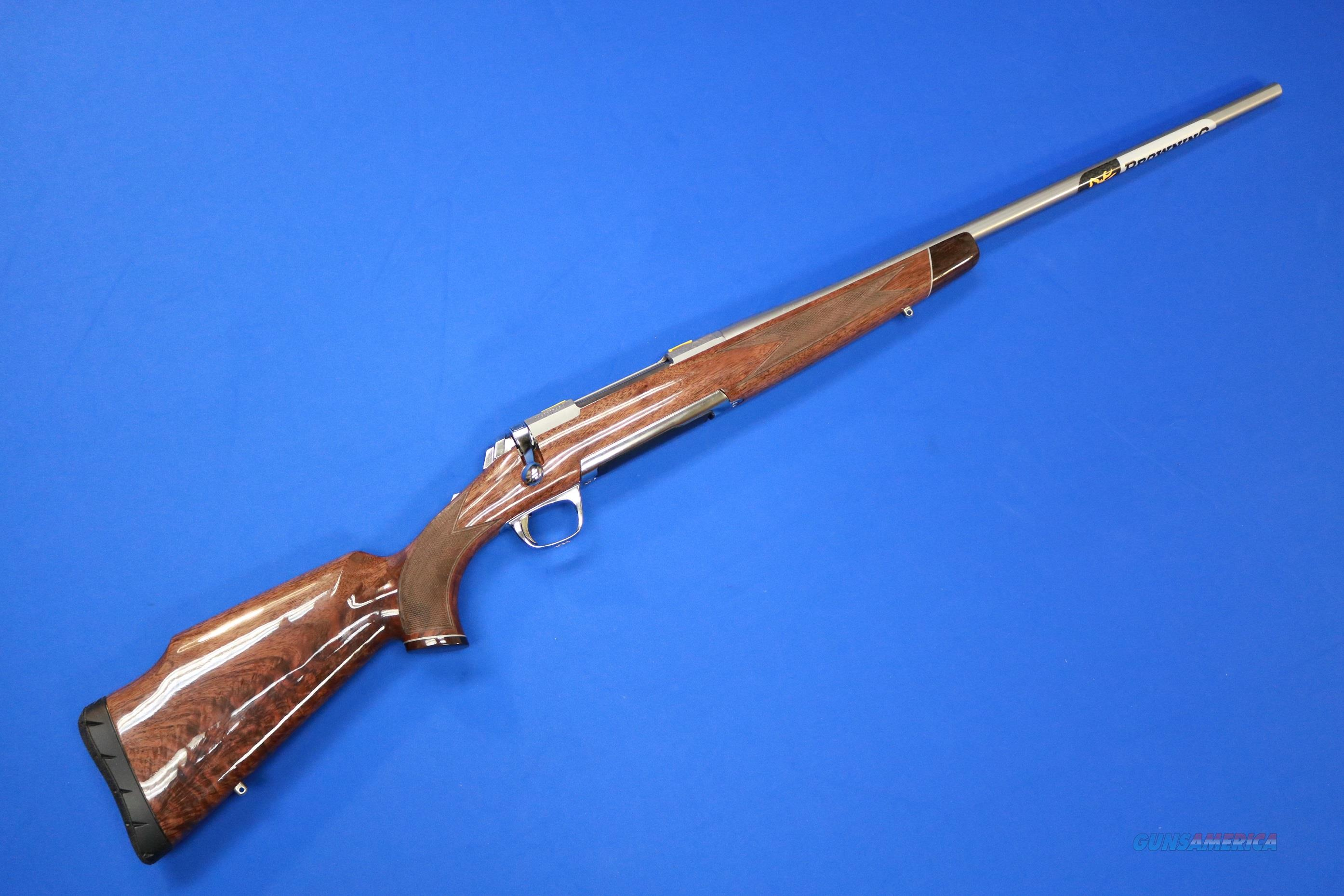BROWNING X-BOLT WHITE GOLD MEDALLION .25-06 REM  Guns > Rifles > Browning Rifles > Bolt Action > Hunting > Stainless