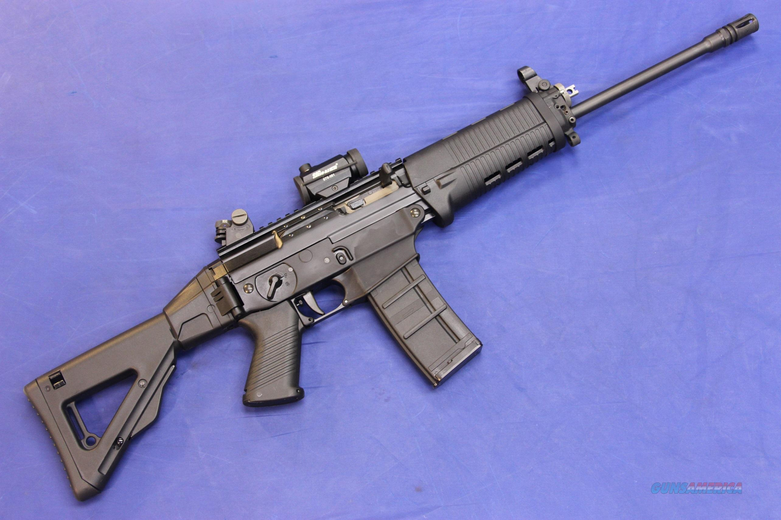 SIG SAUER SIG556 FOLDING w/ RED DOT - EXCELLENT CONDITION!  Guns > Rifles > Sig - Sauer/Sigarms Rifles