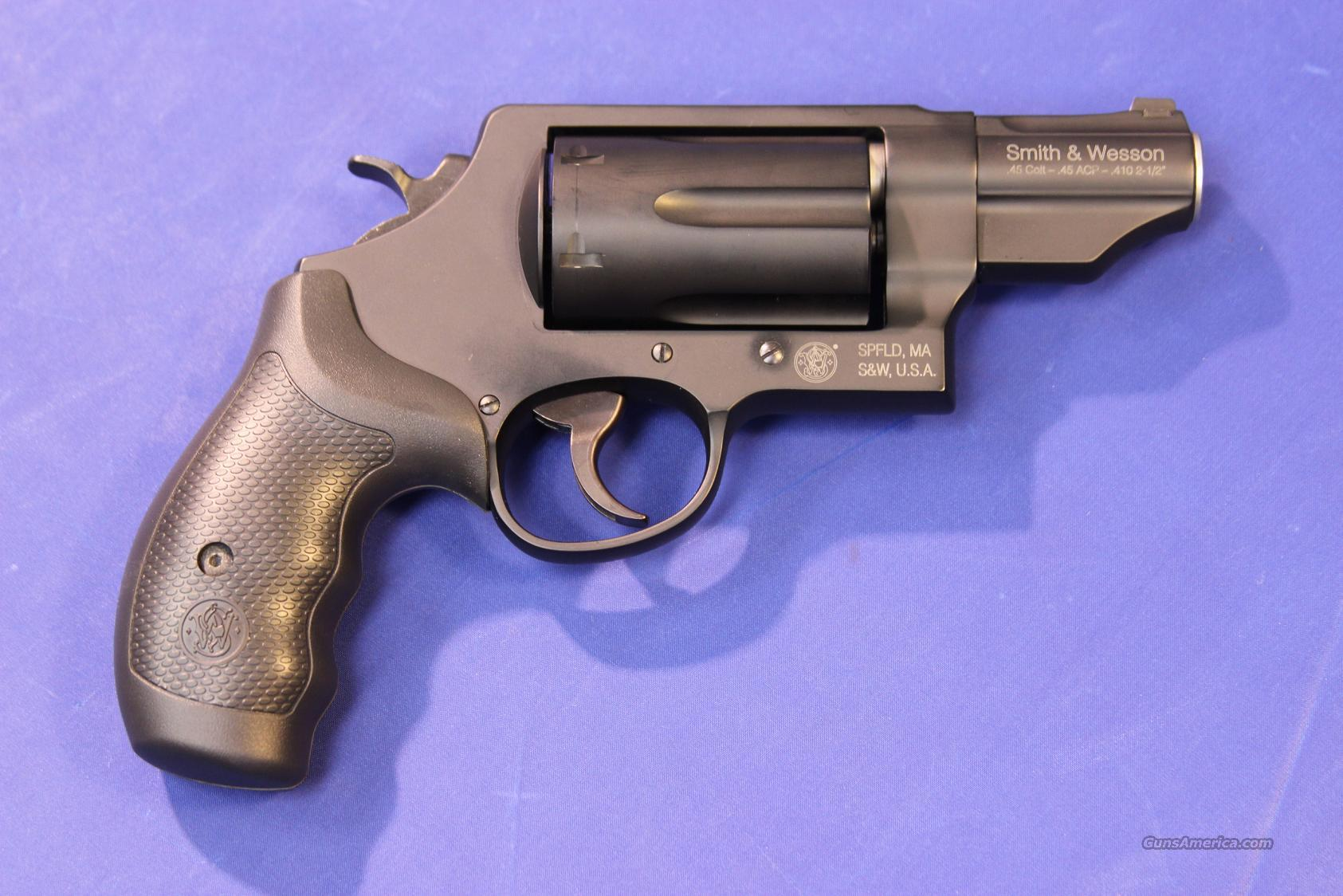 SMITH & WESSON GOVERNOR .45/.410  Guns > Pistols > Smith & Wesson Revolvers > Full Frame Revolver