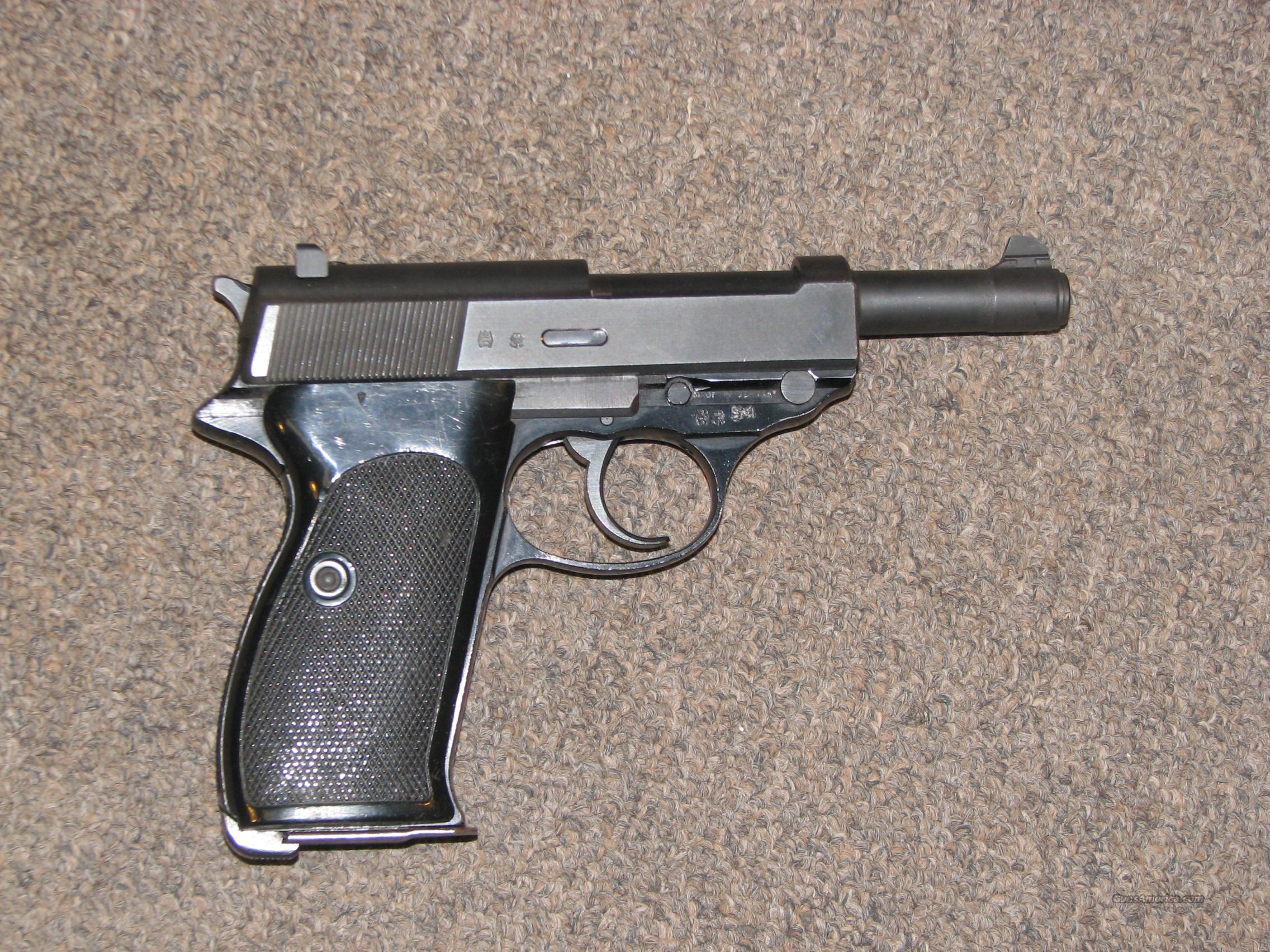 WALTHER P-4 9mm  Guns > Pistols > Walther Pistols > Post WWII > P99 / PPQ