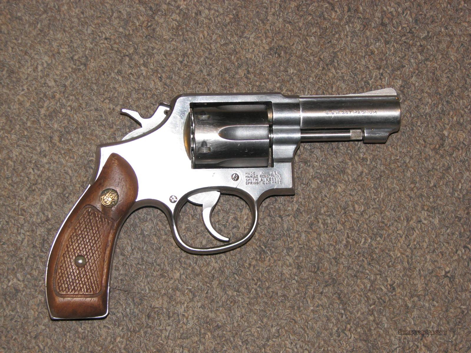 "SMITH & WESSON 65-3 .357 MAG - 3"" ROUND BUTT  Guns > Pistols > Smith & Wesson Revolvers > Full Frame Revolver"