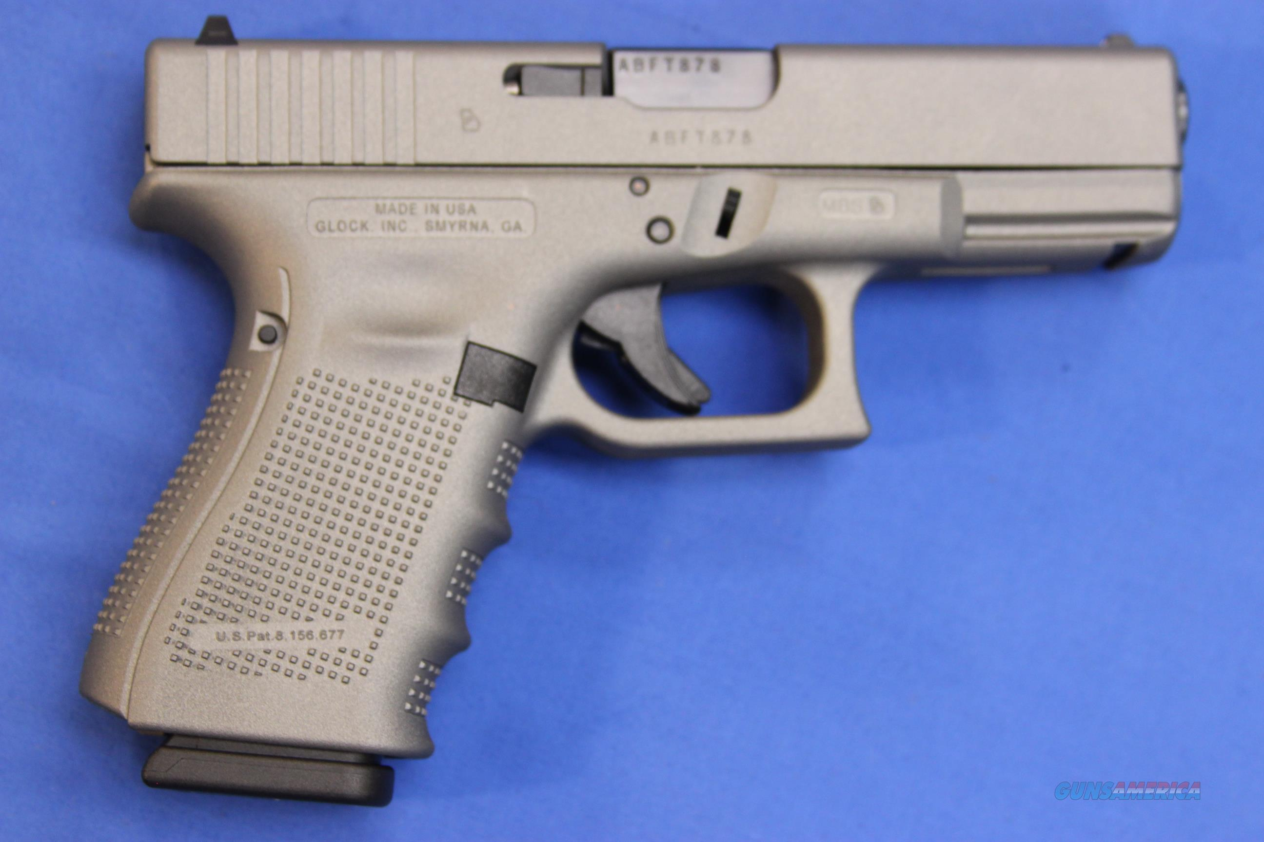 GLOCK 19 GEN 4 GRAY TACTICAL CERAKOTE 9mm - NEW!  Guns > Pistols > Glock Pistols > 19