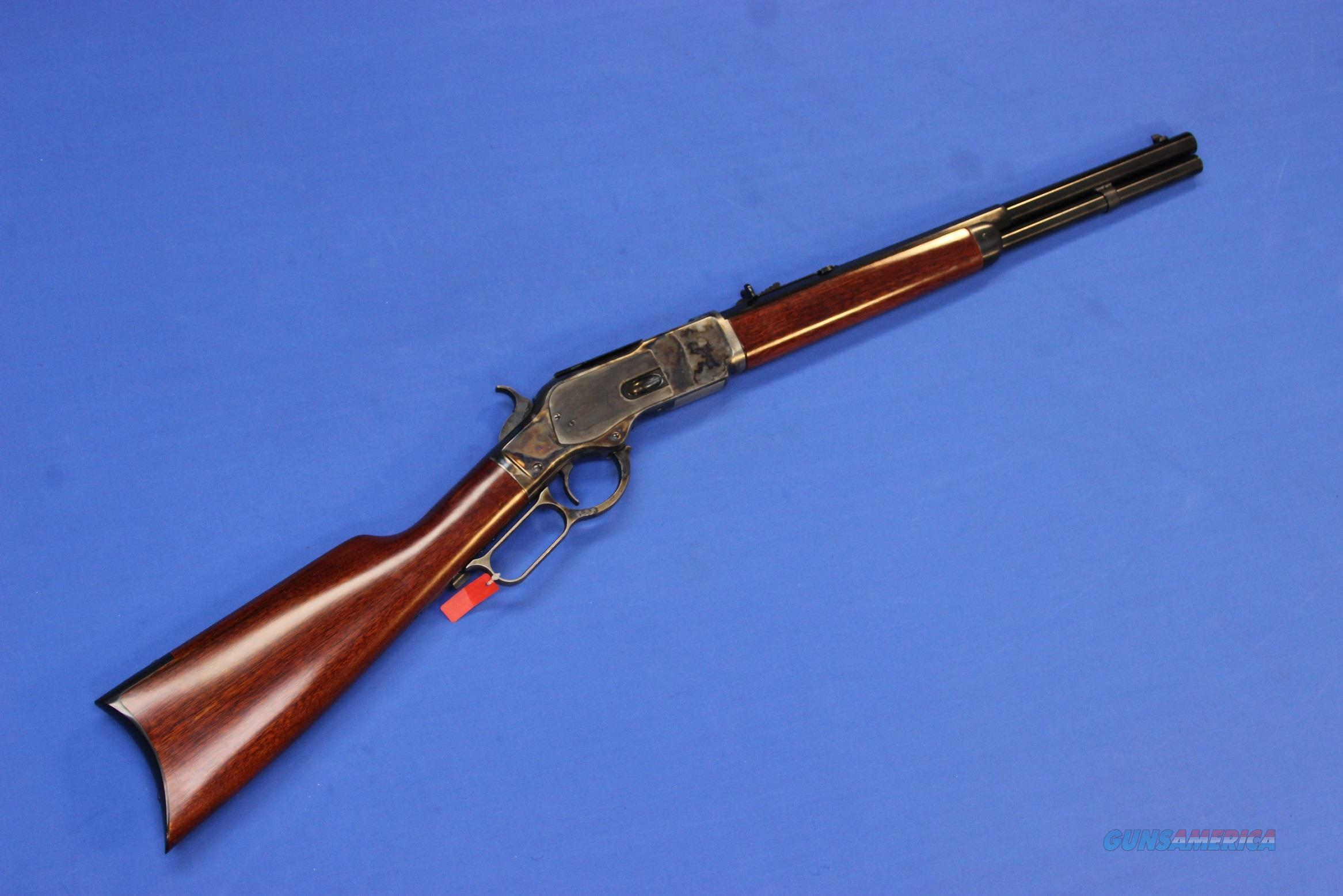 UBERTI 1873 WINCHESTER HALF-OCTAGON CARBINE .357 MAG - NEW!  Guns > Rifles > Uberti Rifles > Lever Action