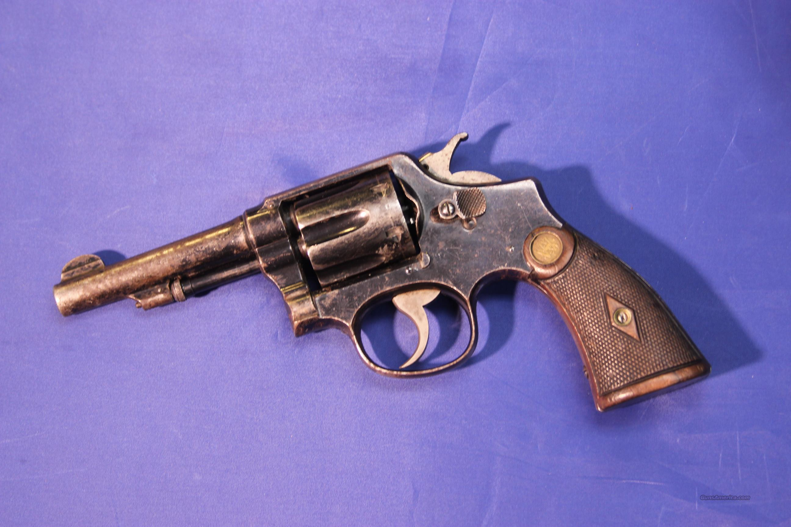 SMITH & WESSON 1905 HAND EJECTOR 3RD CHANGE .32 WCF  Guns > Pistols > Smith & Wesson Revolvers > Pre-1945