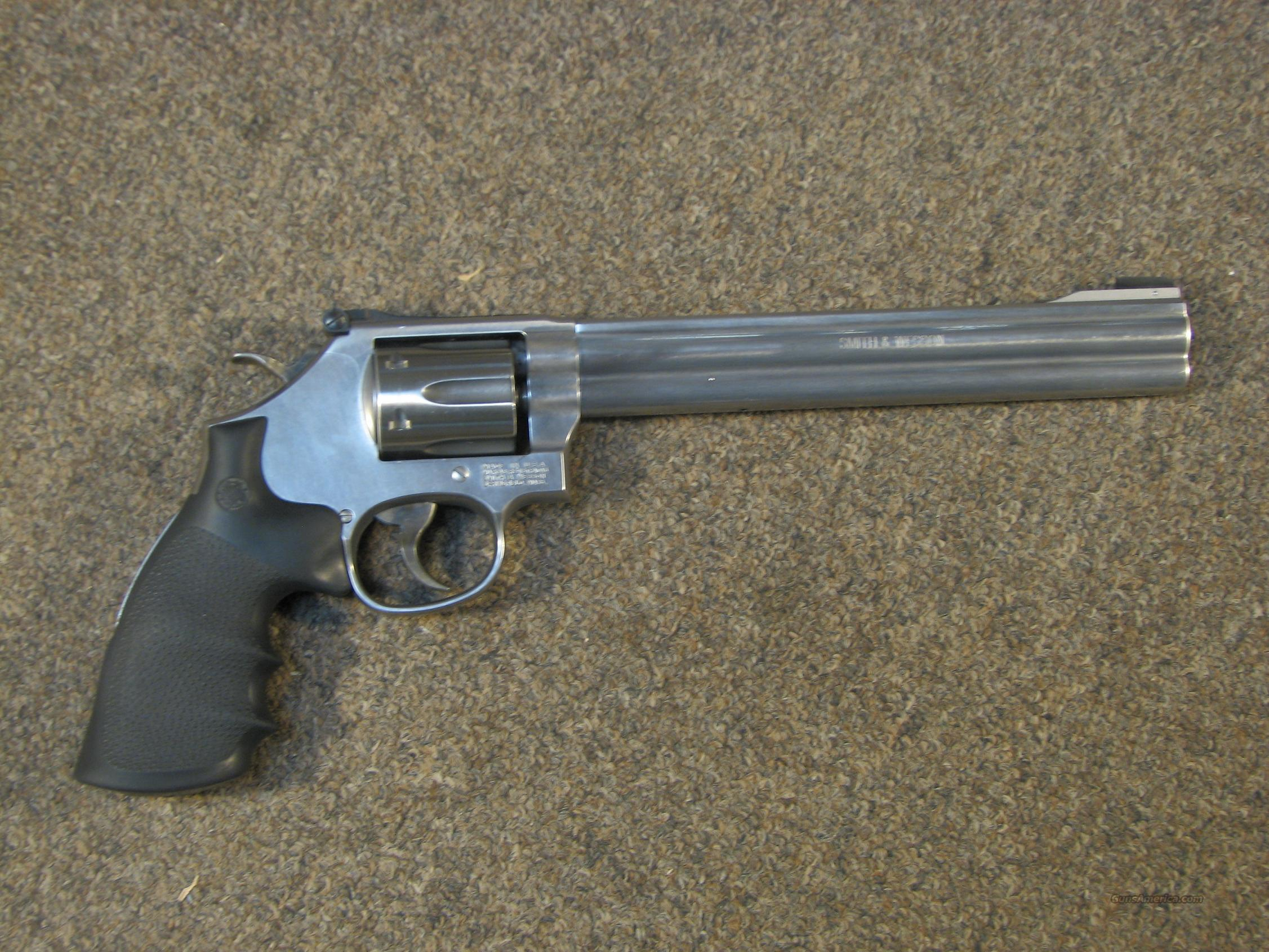 SMITH & WESSON 647 .17 HMR - EXCELLENT CONDITION w/ BOX!  Guns > Pistols > Smith & Wesson Revolvers > Full Frame Revolver