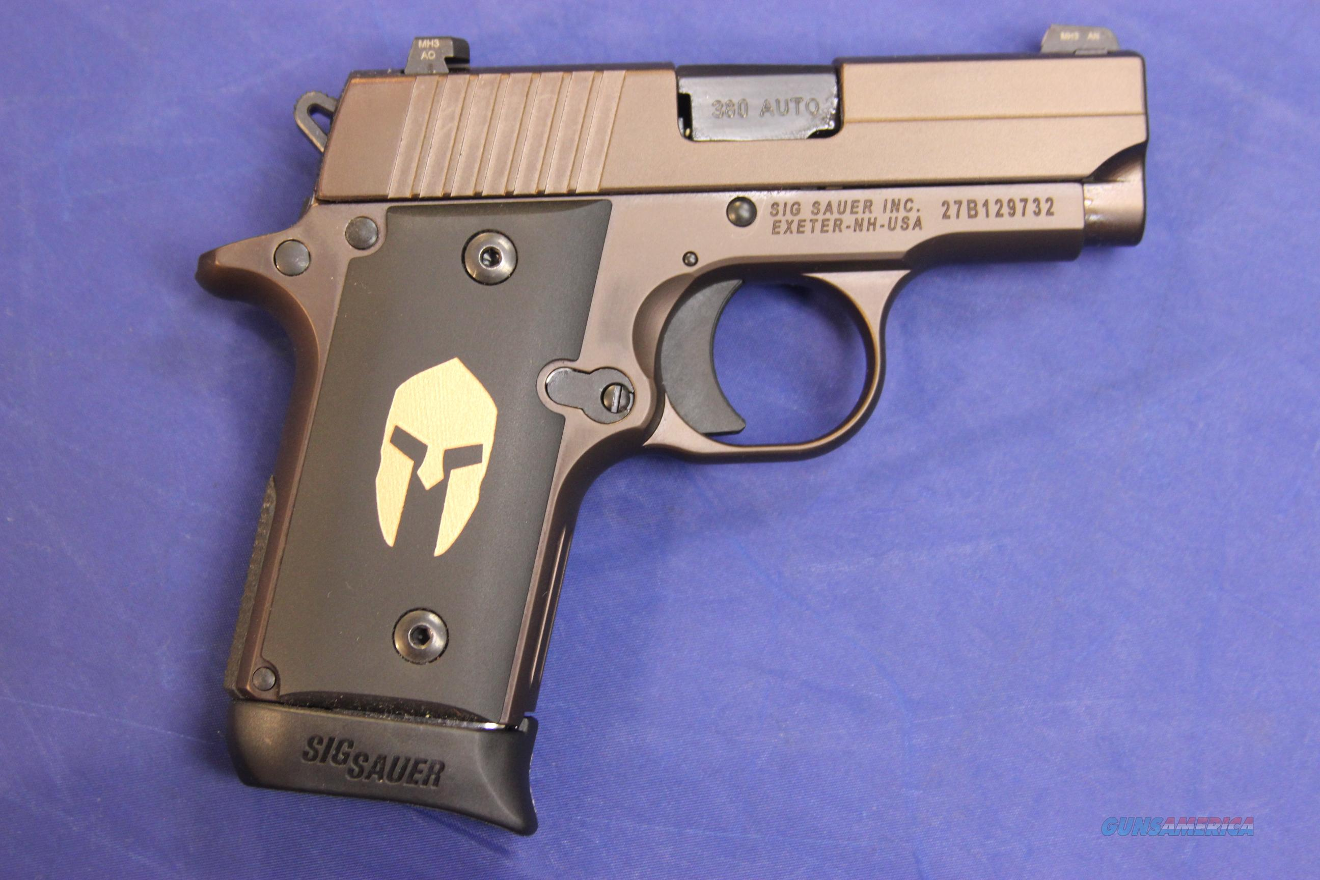 SIG SAUER P238 SPARTAN .380 ACP - NEW - FREE SHIPPING!  Guns > Pistols > Sig - Sauer/Sigarms Pistols > P238