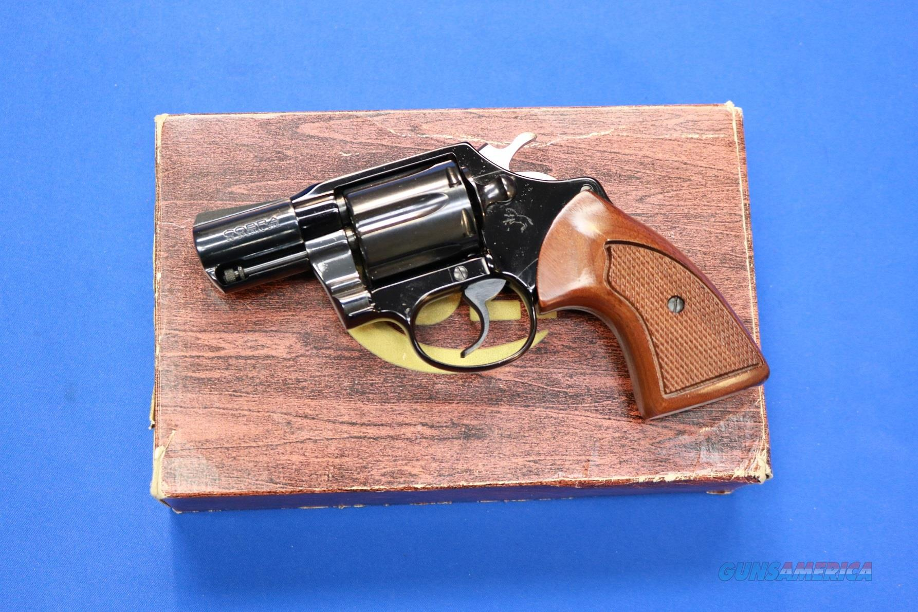 Colt Cobra .38 Special – New/Unfired w/Factory Box  Guns > Pistols > Colt Double Action Revolvers- Modern