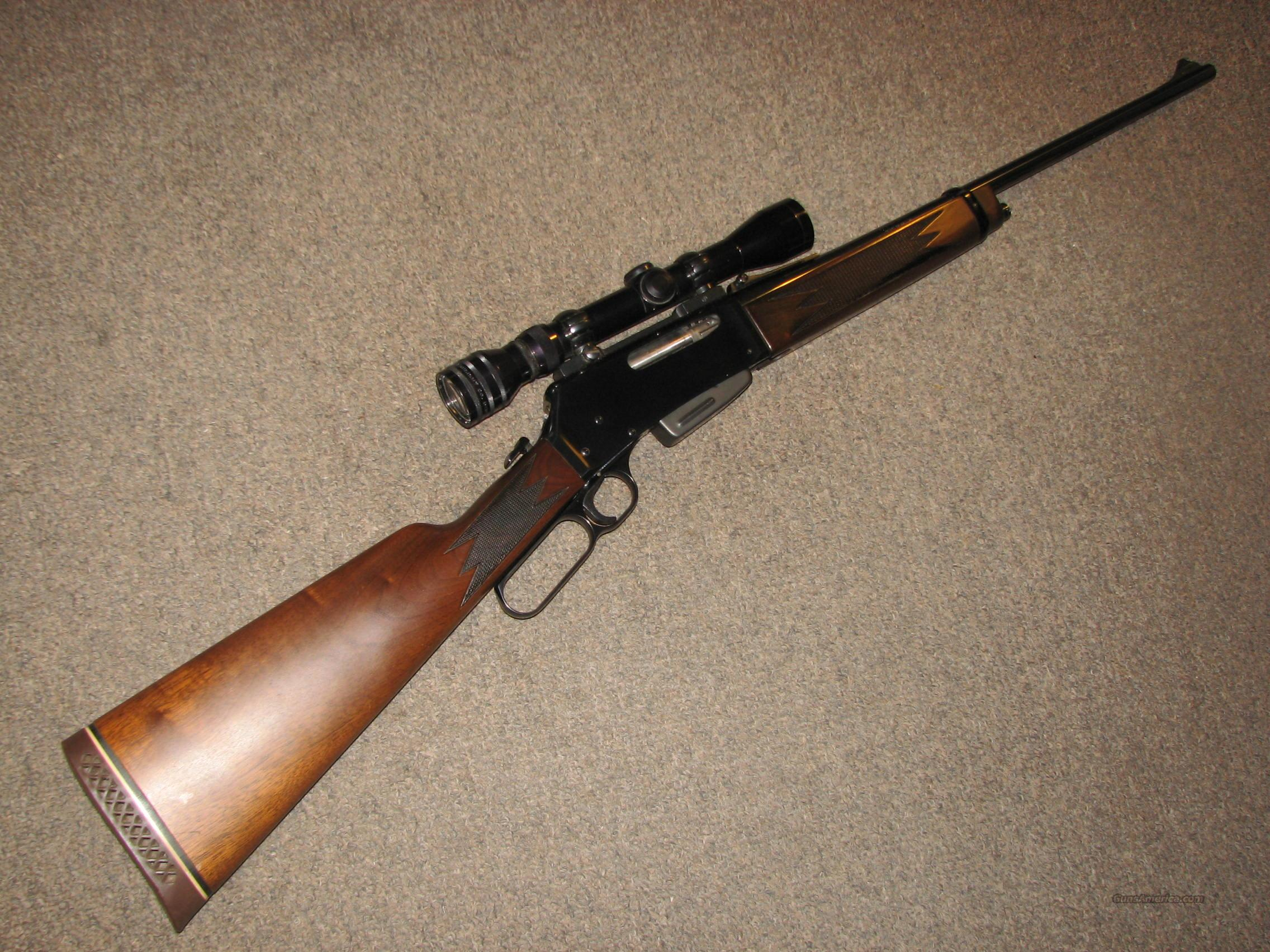 BROWNING BLR .243 WIN w/ REDFIELD 2-7 RANGEFINDING SCOPE  Guns > Rifles > Browning Rifles > Lever Action