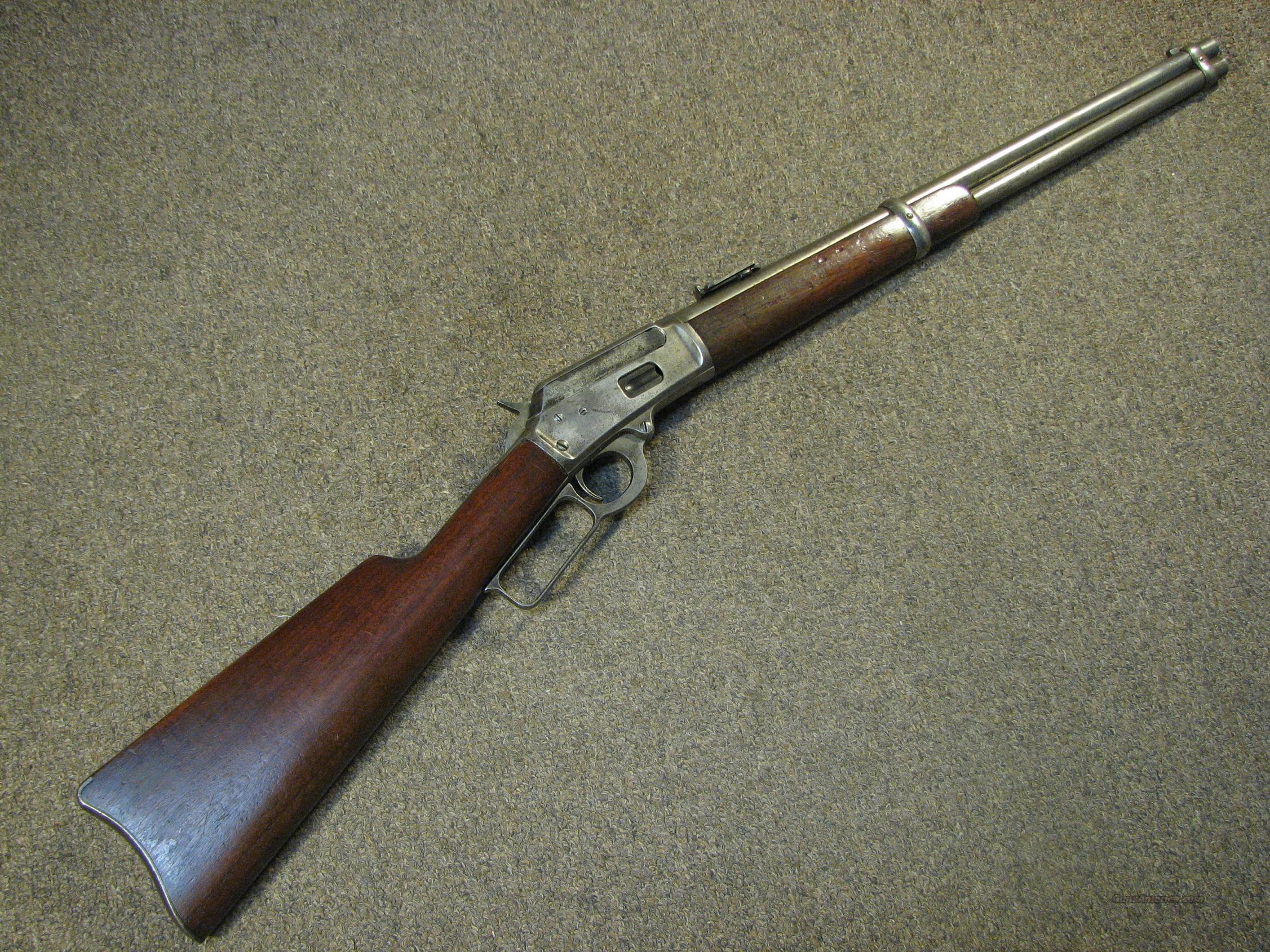 MARLIN 1894 SADDLE RING CARBINE .44-40 - MFG 1897  Guns > Rifles > Marlin Rifles > Pre-1899