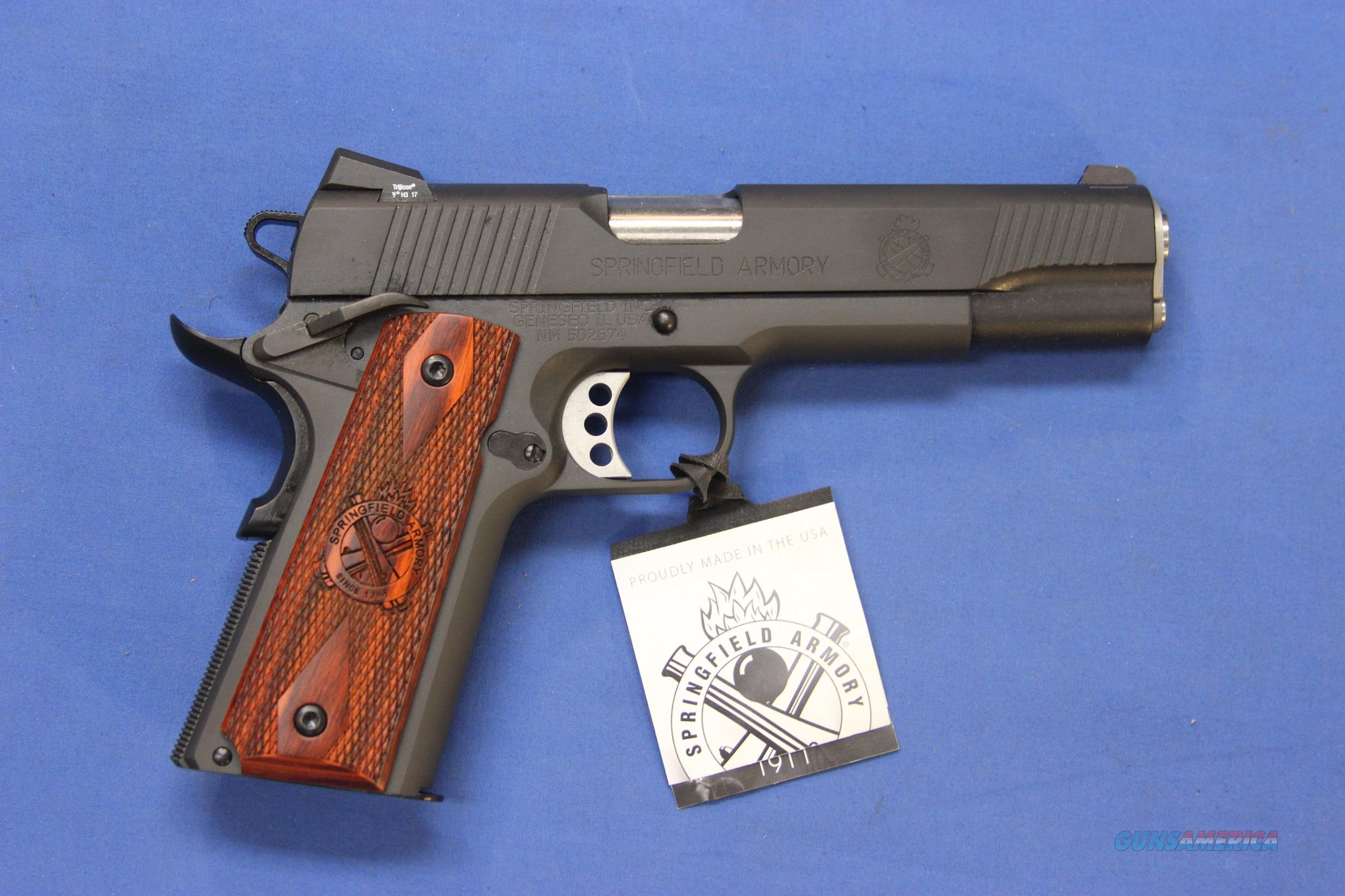 A1 Auto Sales >> SPRINGFIELD ARMORY 1911 LOADED .45 ACP - NEW! for sale