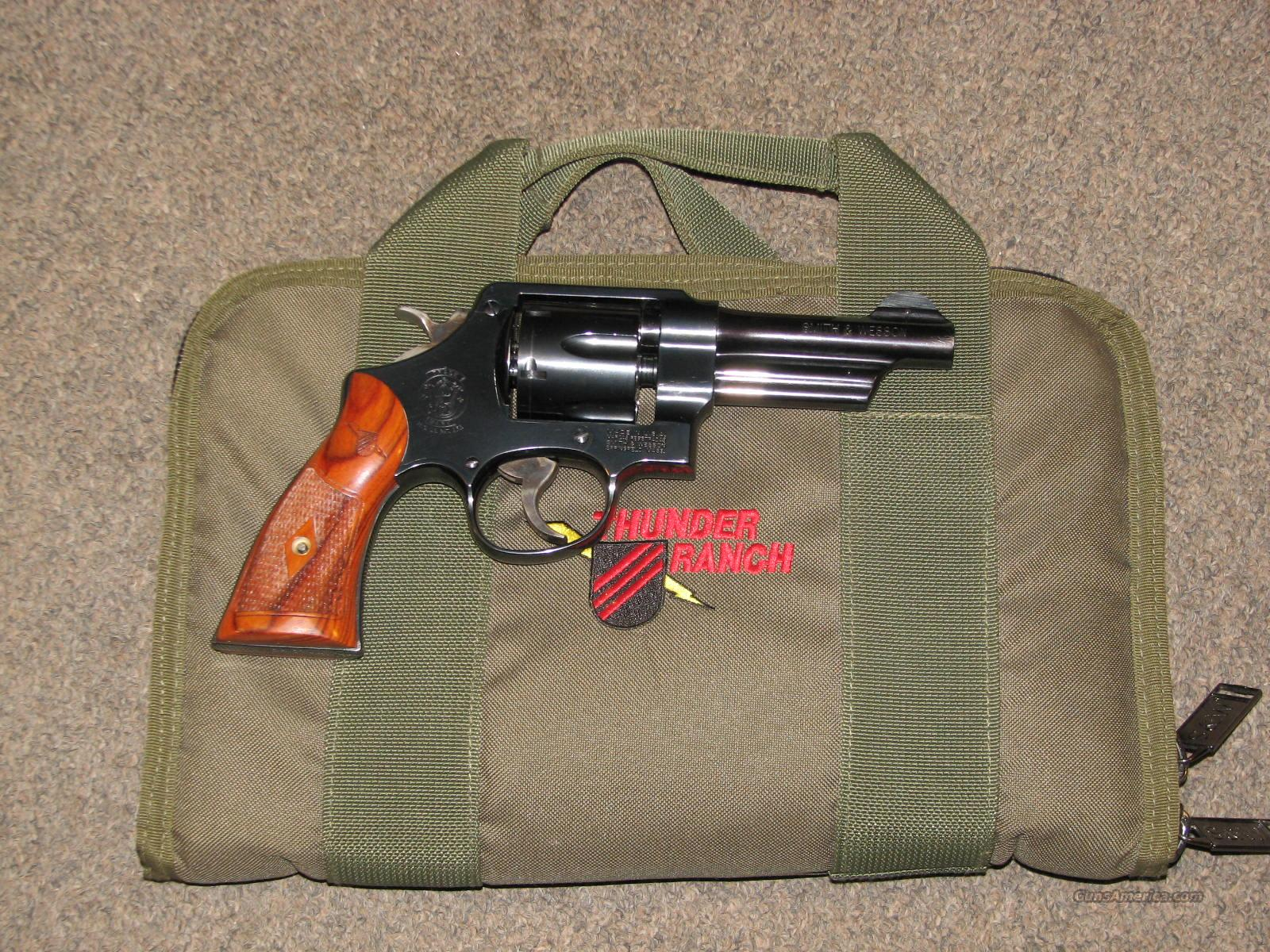 SMITH & WESSON 22-4 THUNDER RANCH .45 ACP  Guns > Pistols > Smith & Wesson Revolvers > Full Frame Revolver