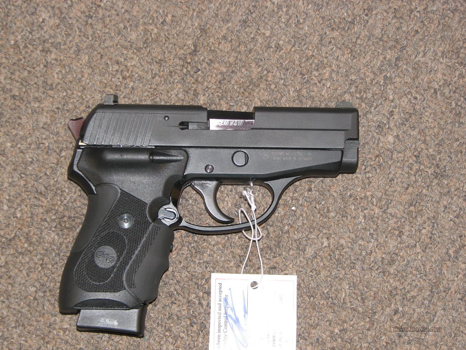 SIG SAUER P239 .40 S&W w/ CRIMSON TRACE - Like New!  Guns > Pistols > Sig - Sauer/Sigarms Pistols > P239