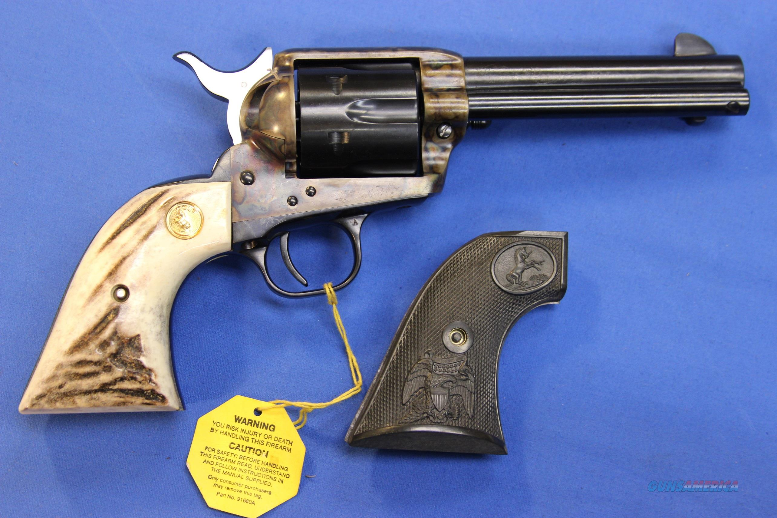 "COLT SAA .45 COLT 4.75"" - AS NIB!  Guns > Pistols > Colt Single Action Revolvers - 3rd Gen."
