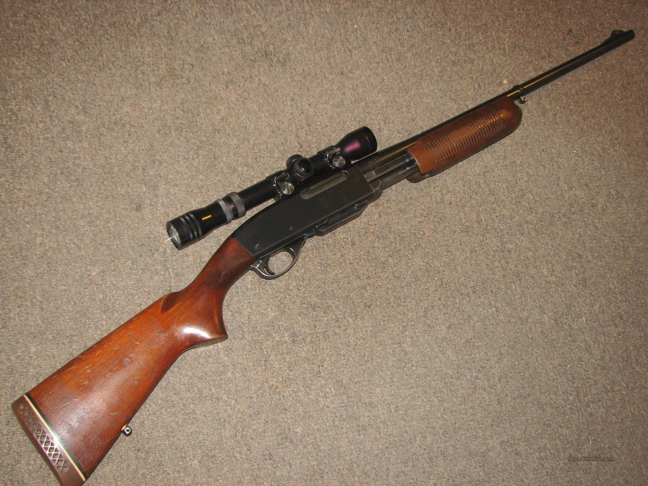 REMINGTON 760 GAMEMASTER .257 ROBERTS w/ REDFIELD 2-7 SCOPE  Guns > Rifles > Remington Rifles - Modern > Other