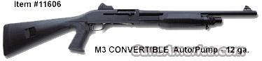BENELLI M3 TACTICAL SHOTGUN 12 GA - #11606  Guns > Shotguns > Benelli Shotguns > Tactical