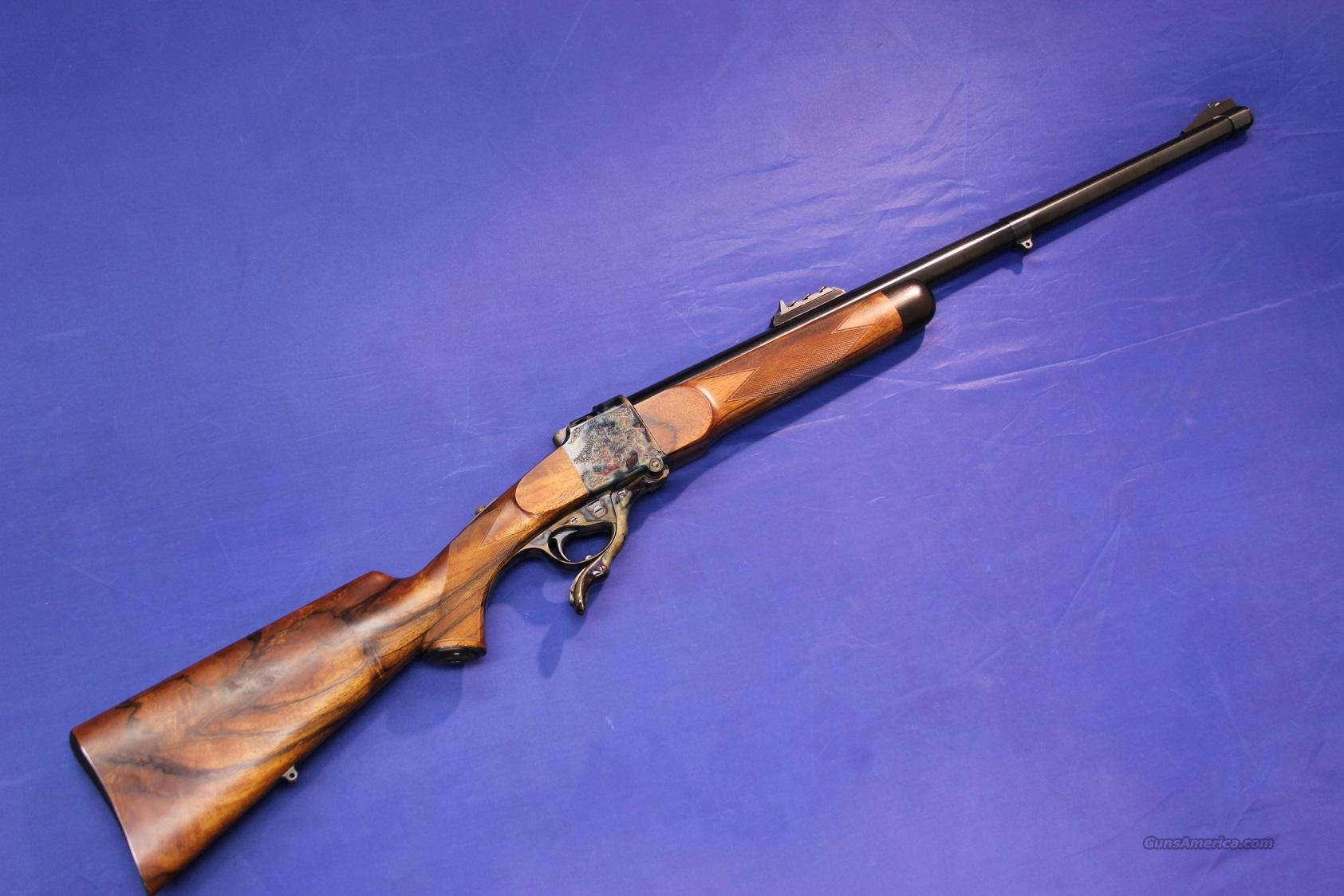 "FARQUHARSON SINGLE SHOT RIFLE .450 3-1/4"" BONE ENGRAVED  Guns > Rifles > F Misc Rifles"