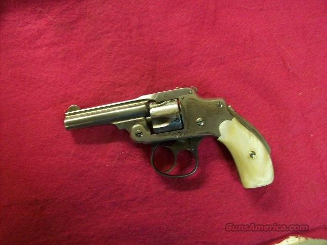 Smith & Wesson 1st Model Safety Hammerless Pearls   Guns > Pistols > Smith & Wesson Revolvers > Pre-1945