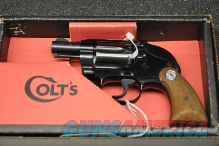 1968 Colt Agent Shrouded 38 Spl  Guns > Pistols > Colt Double Action Revolvers- Modern