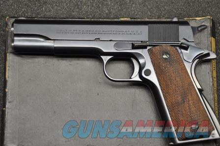Colt 1930 Government Model in 45 ACP in the box  Guns > Pistols > Colt Automatic Pistols (1911 & Var)